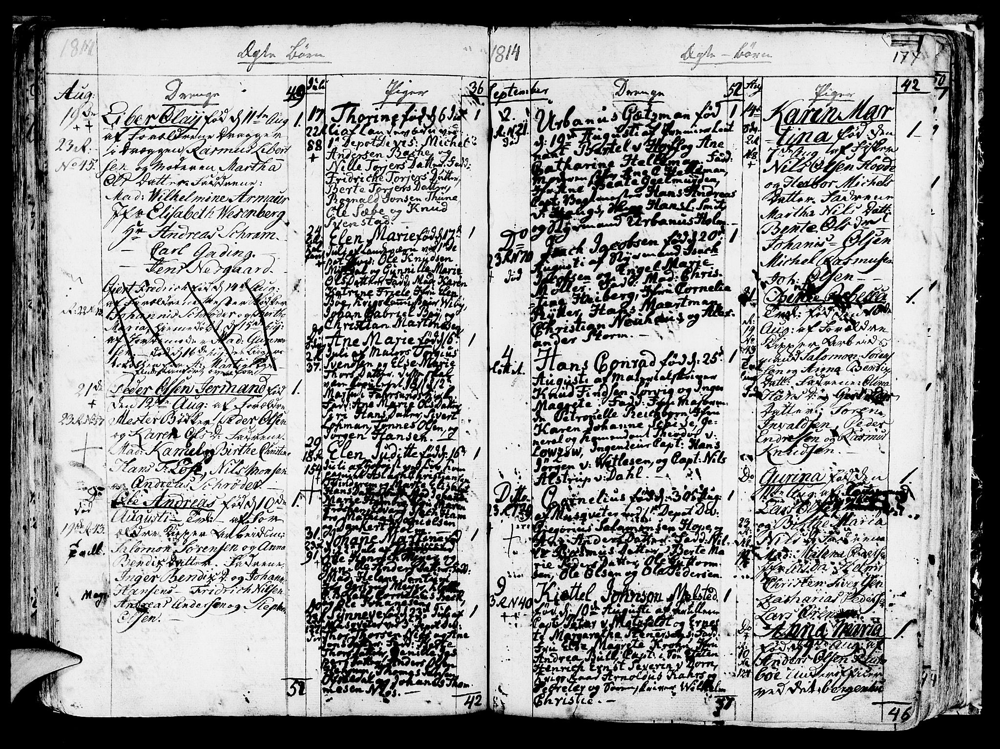 SAB, Korskirken Sokneprestembete, H/Haa/L0006: Ministerialbok nr. A 6, 1790-1820, s. 174
