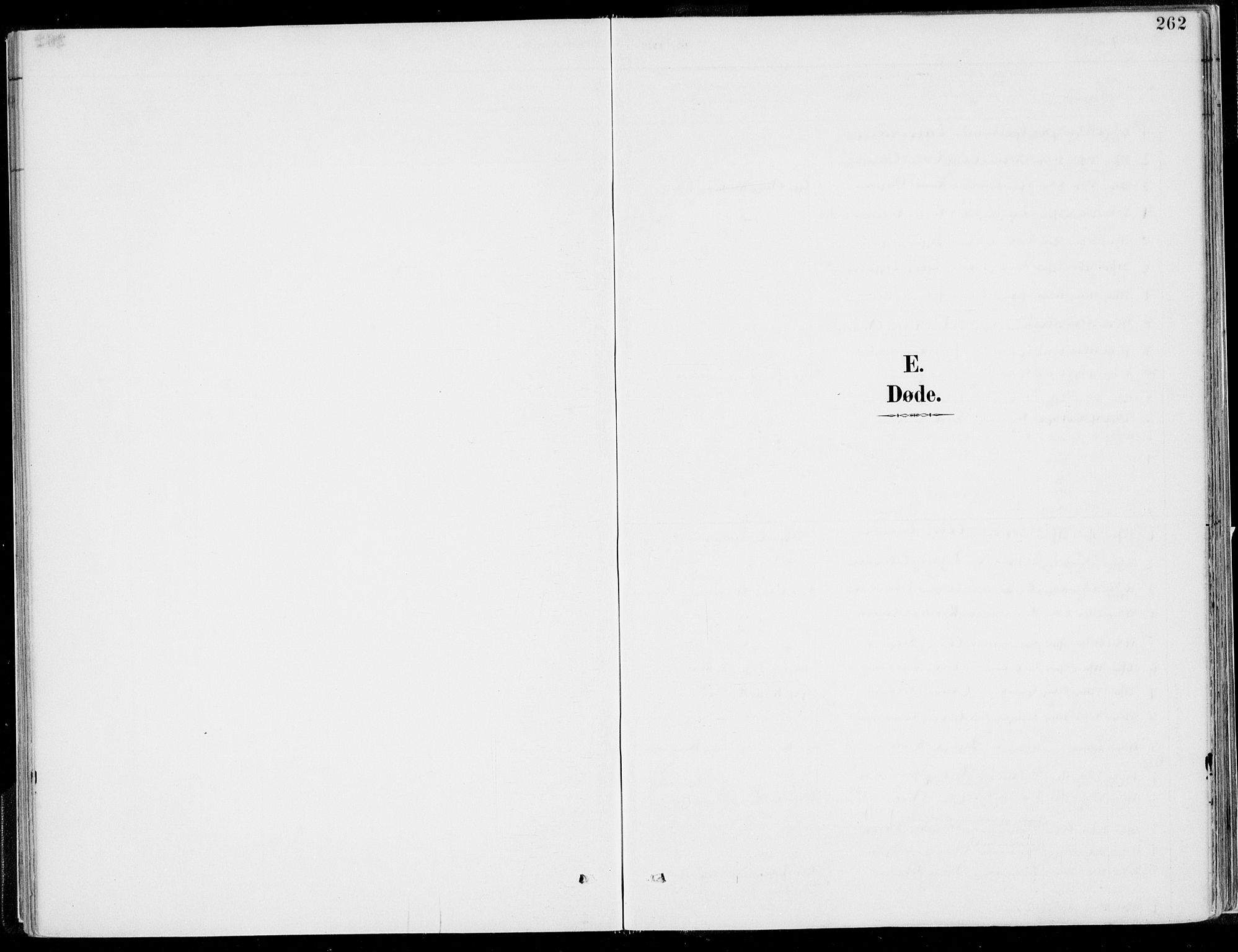 SAB, Kvinnherad Sokneprestembete, H/Haa: Ministerialbok nr. B  1, 1887-1921, s. 262