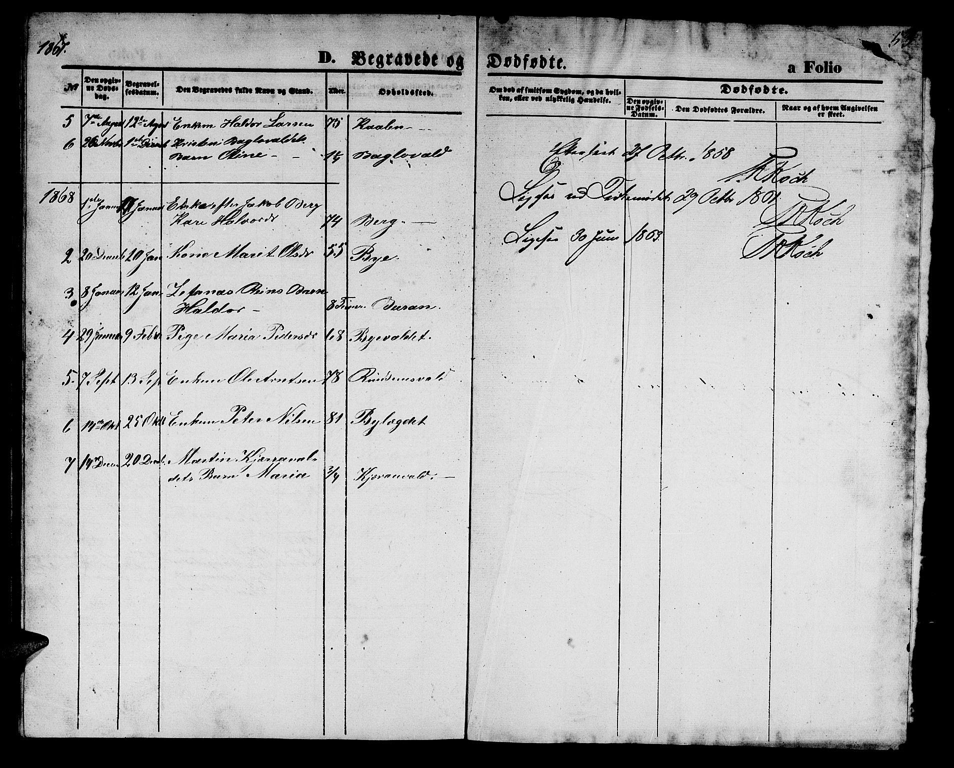 SAT, Ministerialprotokoller, klokkerbøker og fødselsregistre - Nord-Trøndelag, 726/L0270: Klokkerbok nr. 726C01, 1858-1868, s. 53