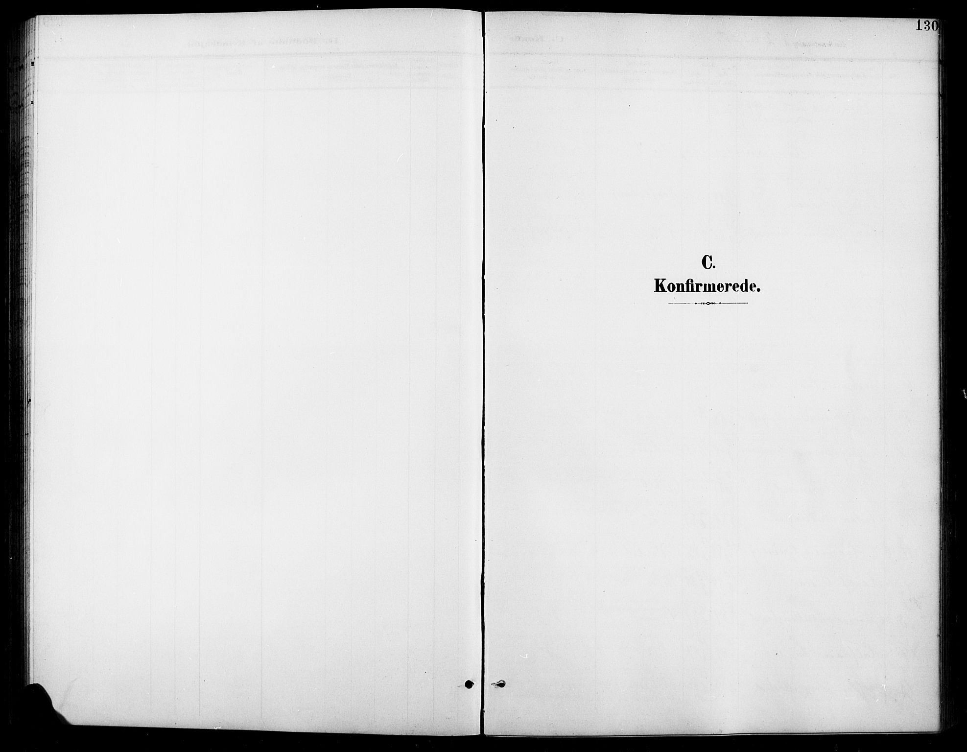 SAH, Vardal prestekontor, H/Ha/Hab/L0012: Klokkerbok nr. 12, 1902-1911, s. 130