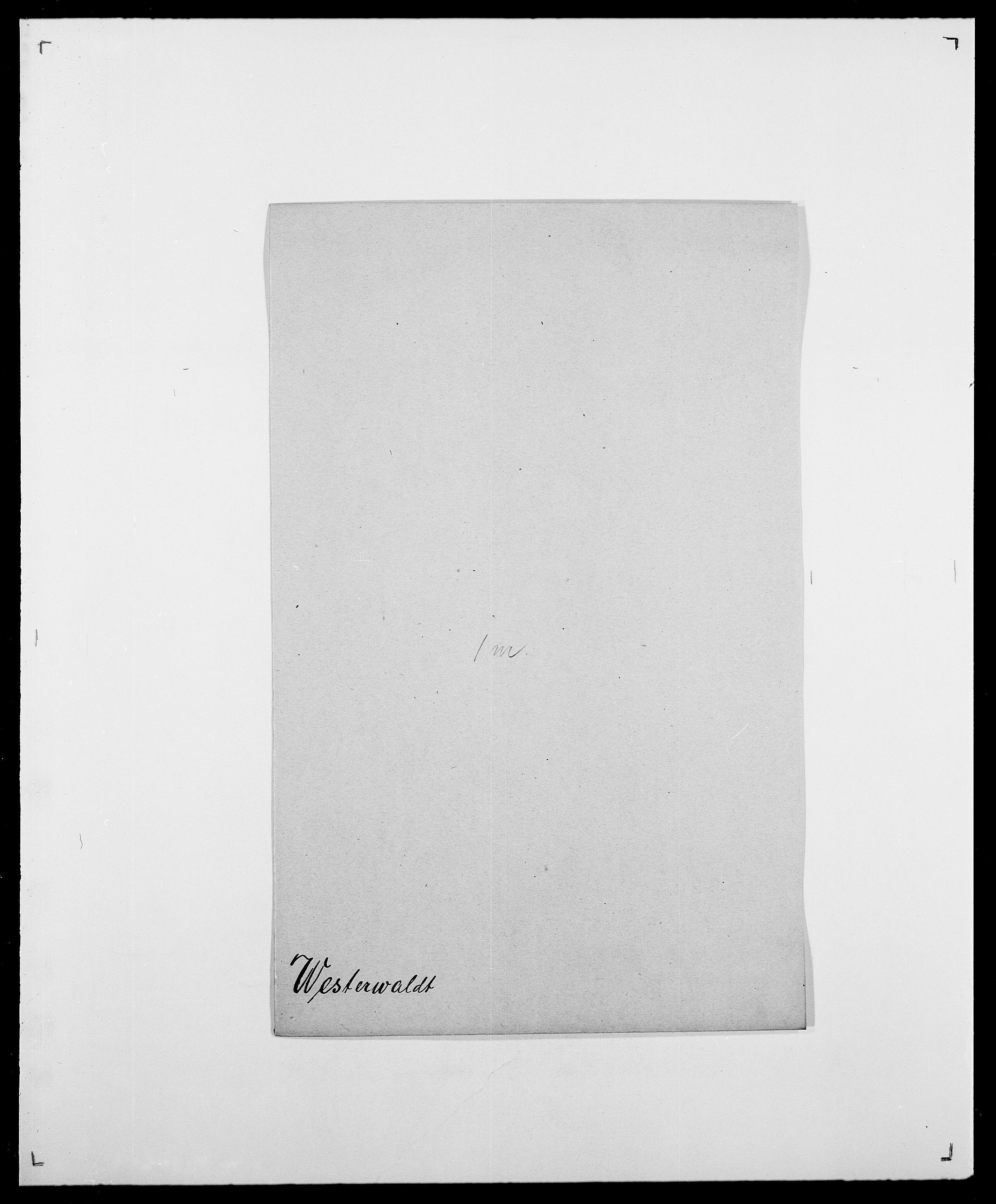 SAO, Delgobe, Charles Antoine - samling, D/Da/L0041: Vemmestad - Viker, s. 291