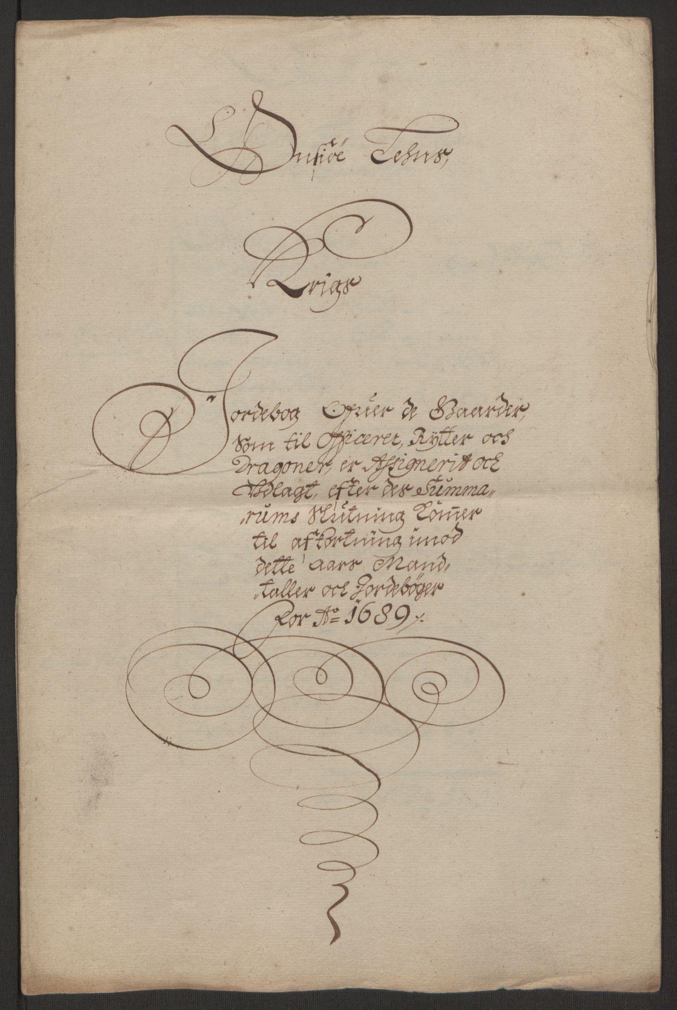 RA, Rentekammeret inntil 1814, Reviderte regnskaper, Fogderegnskap, R03/L0118: Fogderegnskap Onsøy, Tune, Veme og Åbygge fogderi, 1684-1689, s. 254