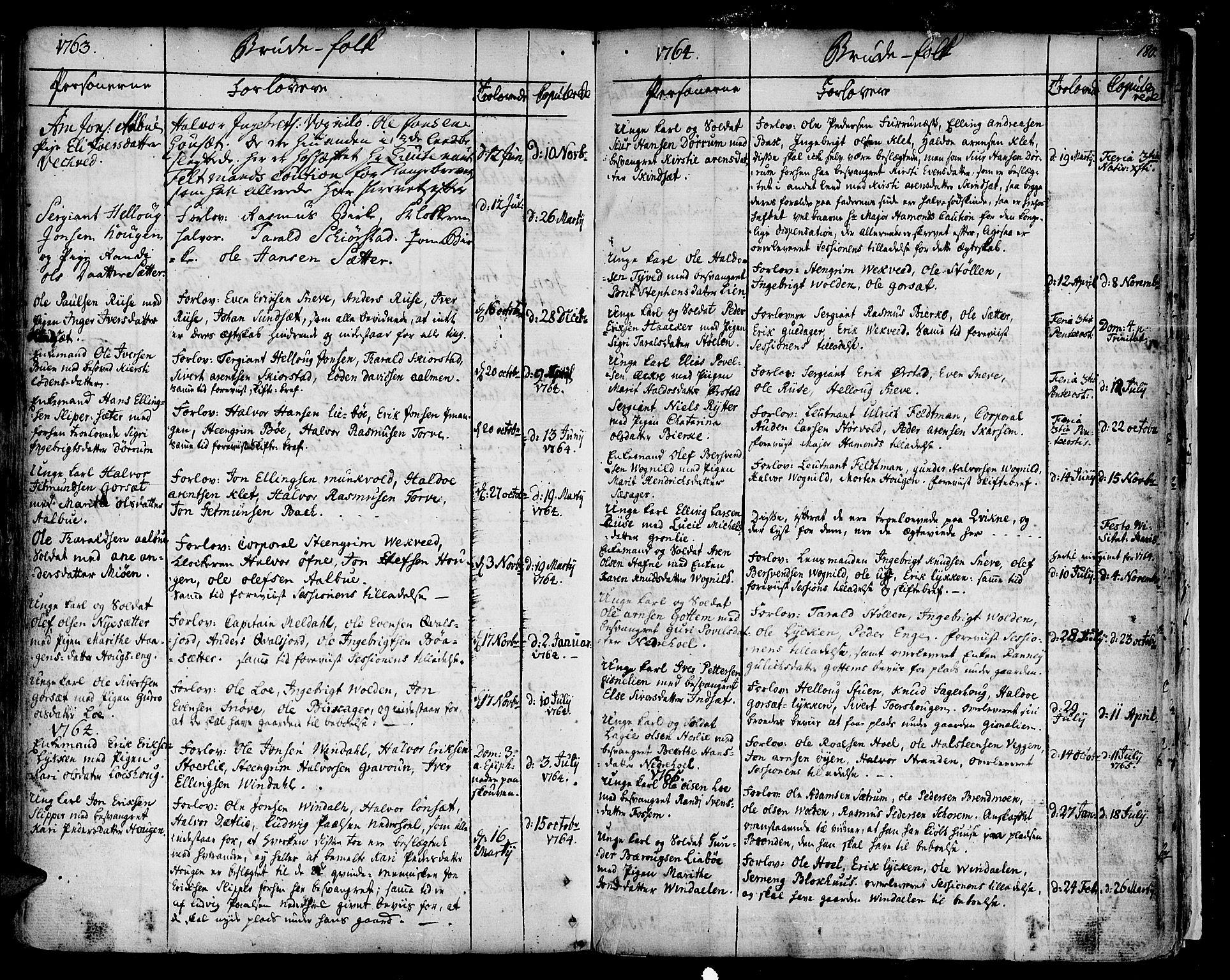 SAT, Ministerialprotokoller, klokkerbøker og fødselsregistre - Sør-Trøndelag, 678/L0891: Ministerialbok nr. 678A01, 1739-1780, s. 180