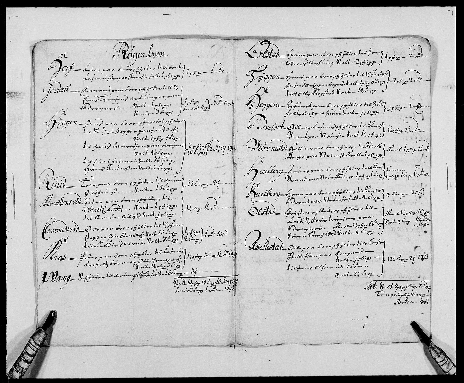 RA, Rentekammeret inntil 1814, Reviderte regnskaper, Fogderegnskap, R29/L1692: Fogderegnskap Hurum og Røyken, 1682-1687, s. 247