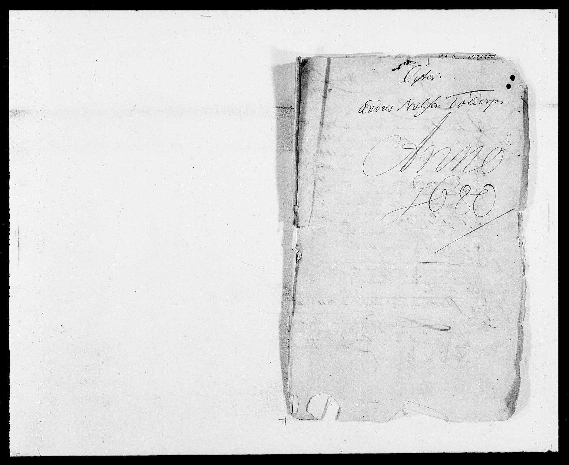 RA, Rentekammeret inntil 1814, Reviderte regnskaper, Fogderegnskap, R41/L2531: Fogderegnskap Lista, 1680-1682, s. 1