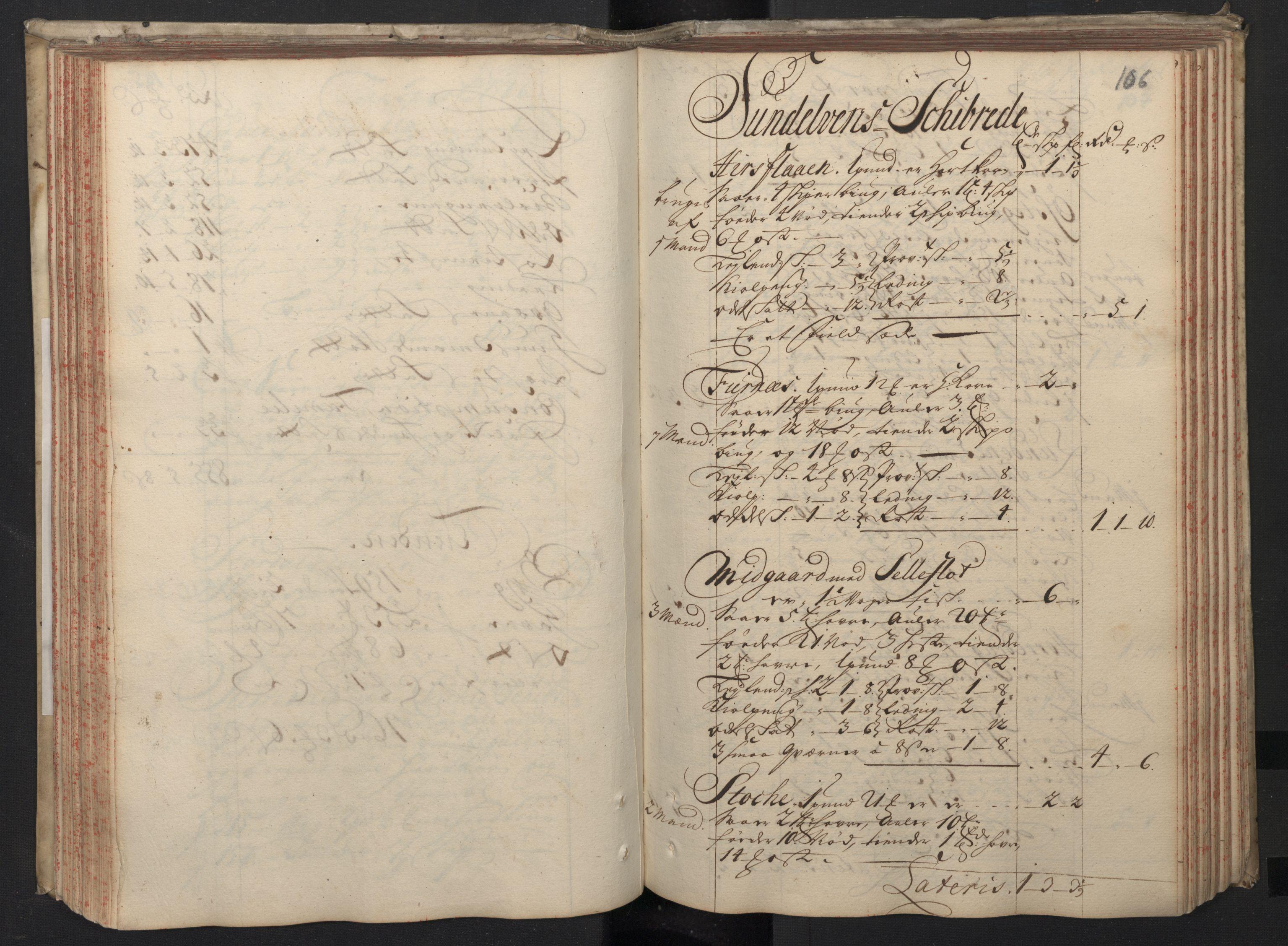 RA, Rentekammeret inntil 1814, Realistisk ordnet avdeling, N/Nb/Nbf/L0148: Sunnmøre, prøvematrikkel, 1714, s. 105b-106a