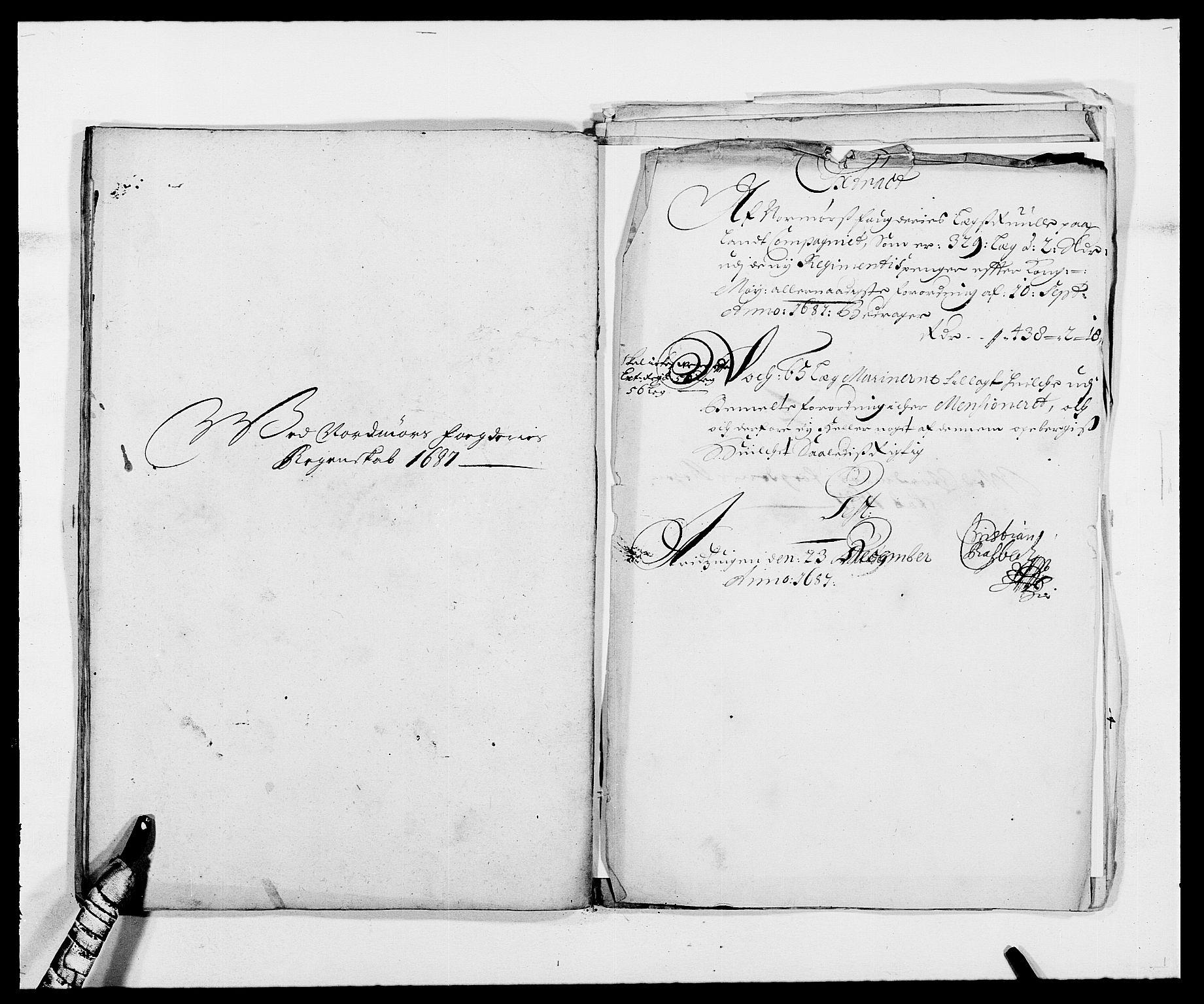 RA, Rentekammeret inntil 1814, Reviderte regnskaper, Fogderegnskap, R56/L3733: Fogderegnskap Nordmøre, 1687-1689, s. 43