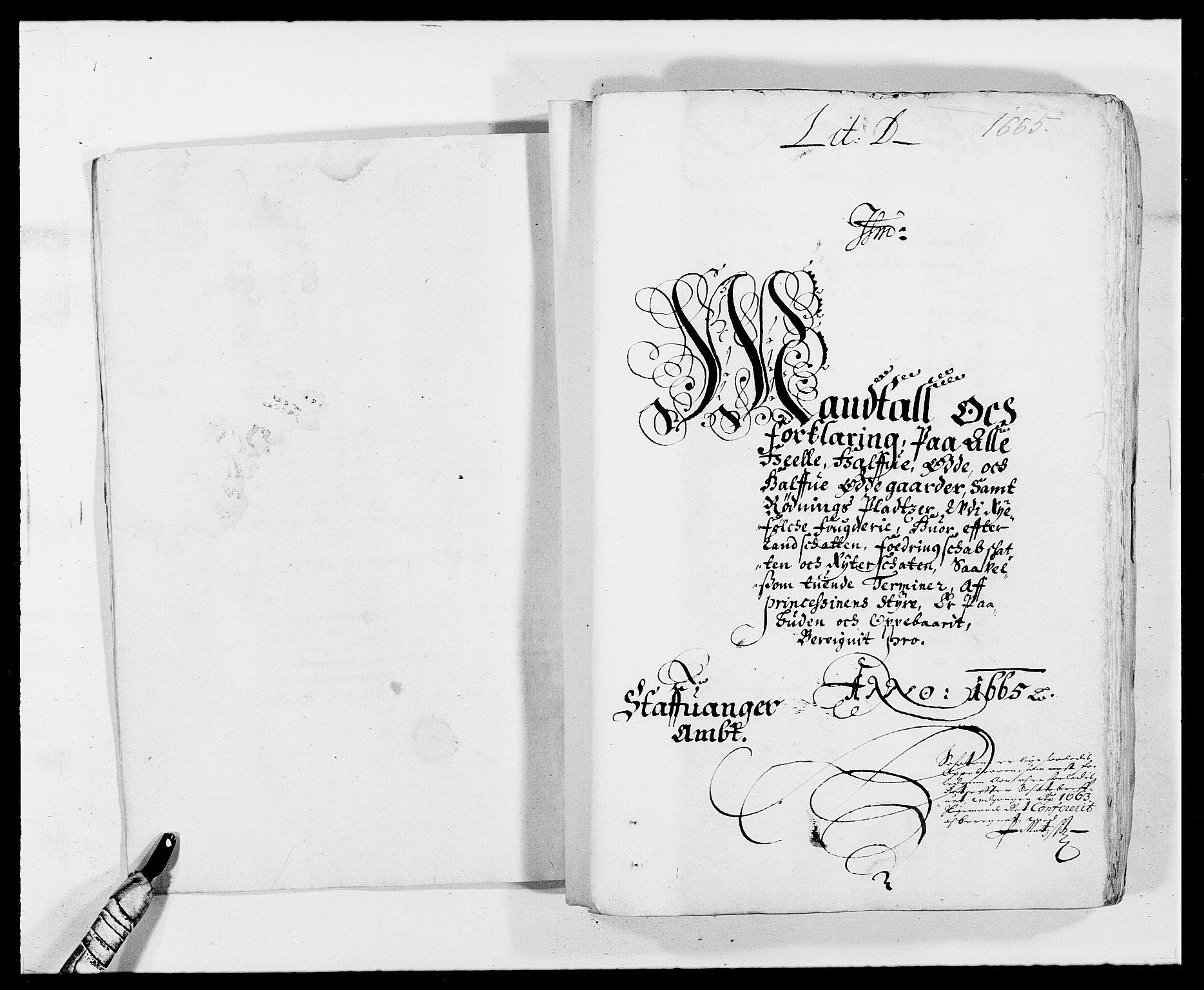 RA, Rentekammeret inntil 1814, Reviderte regnskaper, Fogderegnskap, R47/L2839: Fogderegnskap Ryfylke, 1665-1669, s. 75