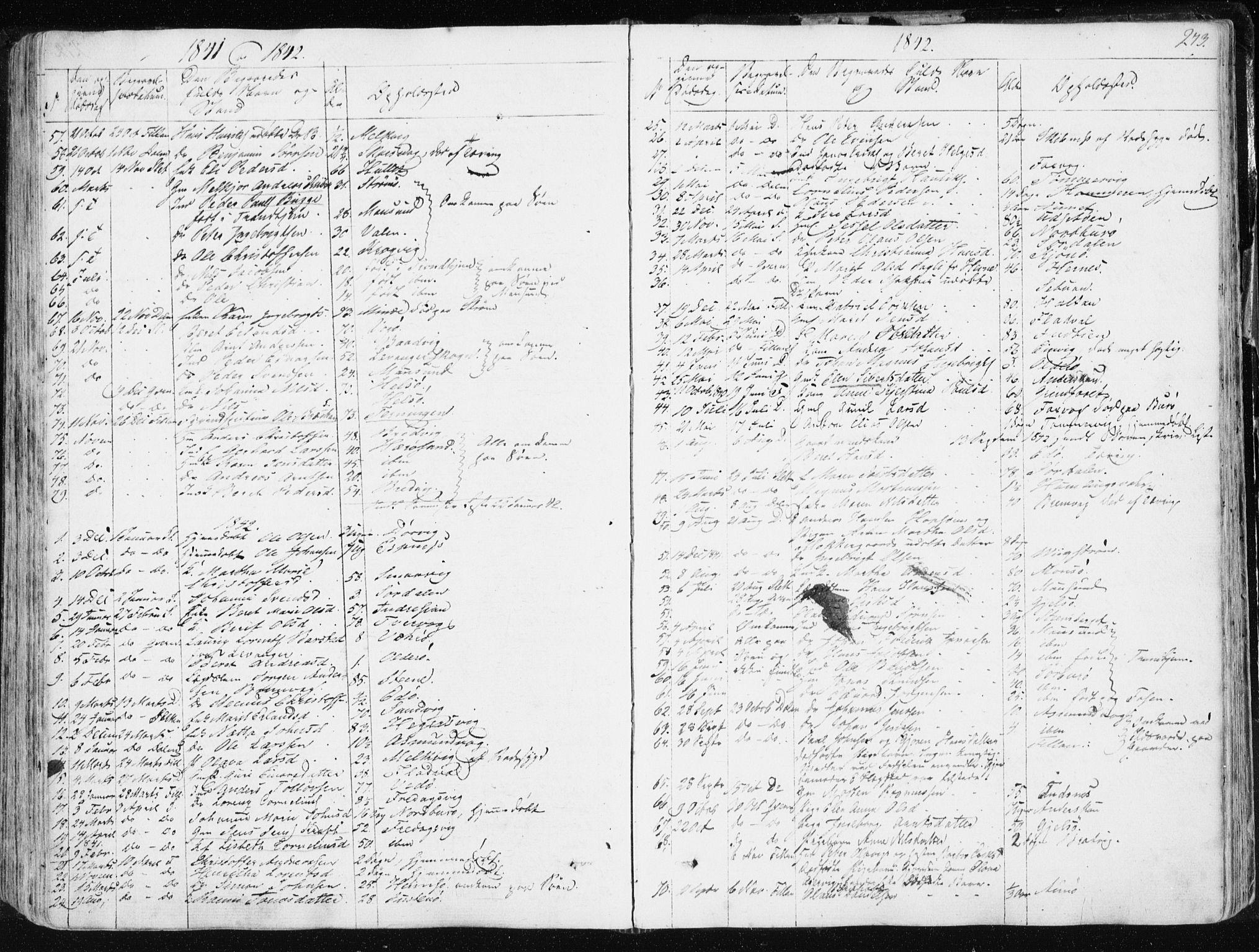 SAT, Ministerialprotokoller, klokkerbøker og fødselsregistre - Sør-Trøndelag, 634/L0528: Ministerialbok nr. 634A04, 1827-1842, s. 273