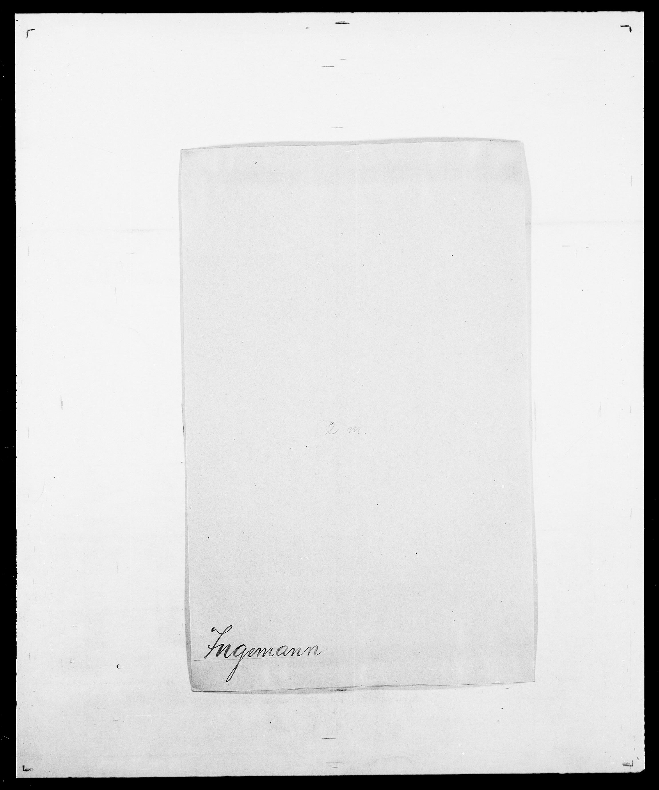 SAO, Delgobe, Charles Antoine - samling, D/Da/L0019: van der Hude - Joys, s. 781