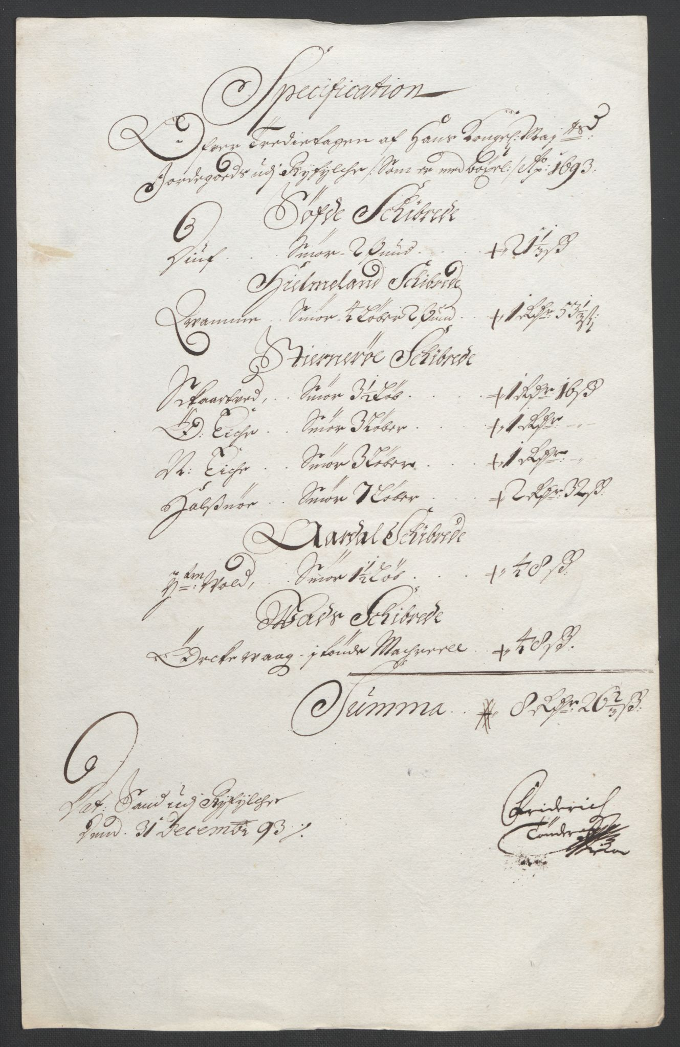 RA, Rentekammeret inntil 1814, Reviderte regnskaper, Fogderegnskap, R47/L2856: Fogderegnskap Ryfylke, 1689-1693, s. 603