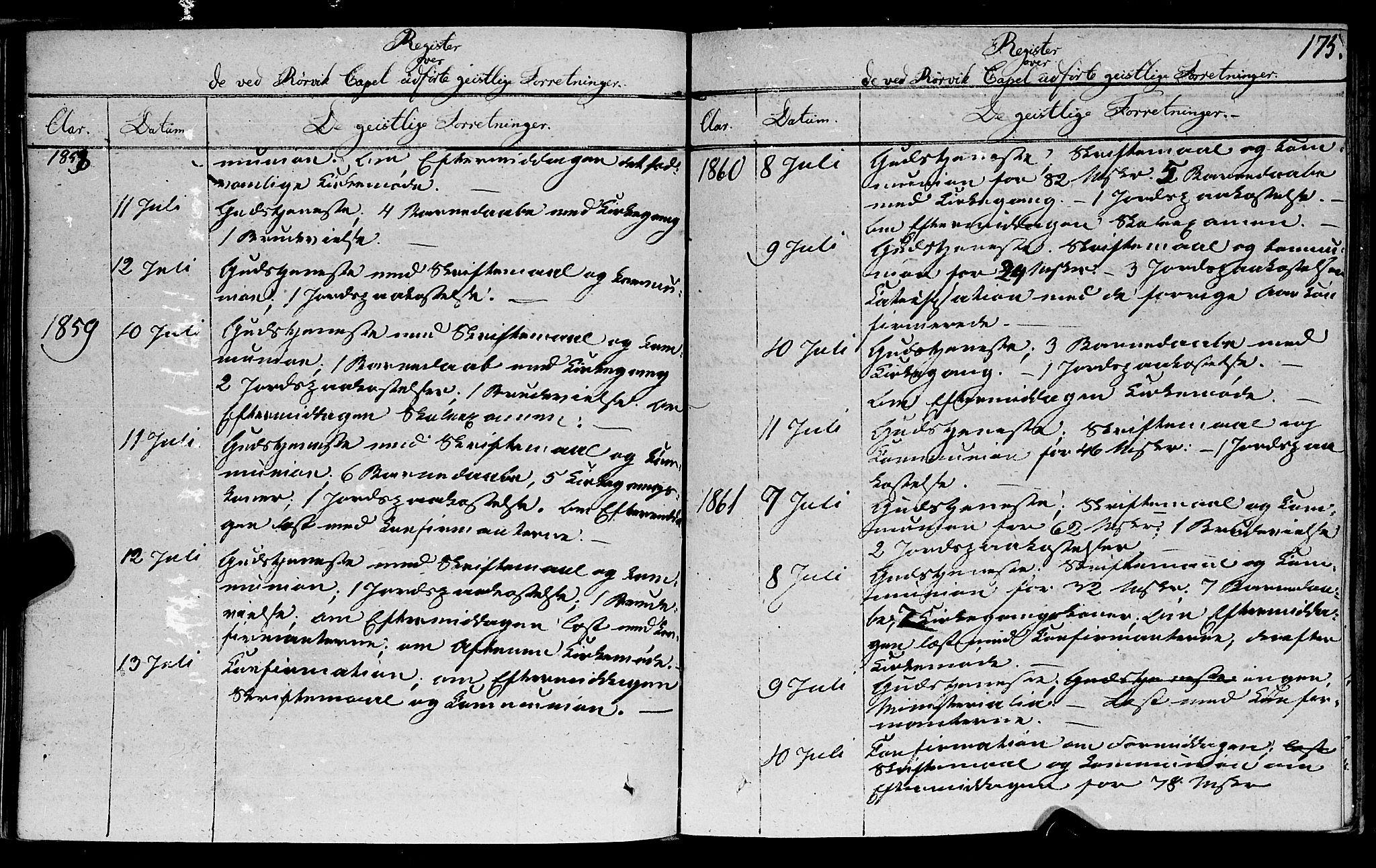 SAT, Ministerialprotokoller, klokkerbøker og fødselsregistre - Nord-Trøndelag, 762/L0538: Ministerialbok nr. 762A02 /1, 1833-1879, s. 175