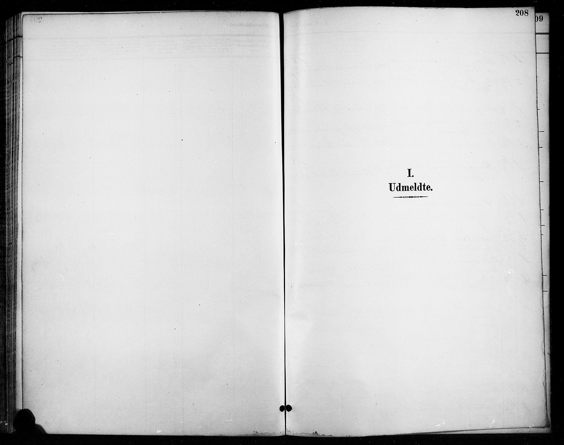 SAH, Vardal prestekontor, H/Ha/Haa/L0011: Ministerialbok nr. 11, 1891-1901, s. 208