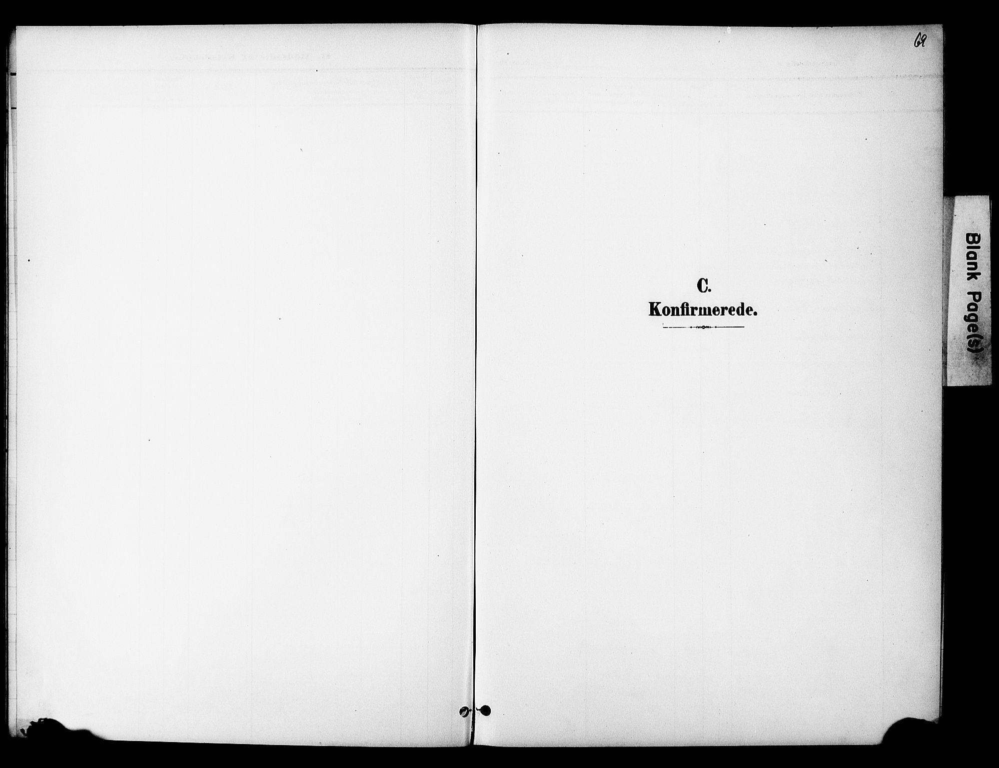 SAO, Nannestad prestekontor Kirkebøker, G/Gc/L0001: Klokkerbok nr. III 1, 1901-1916, s. 68
