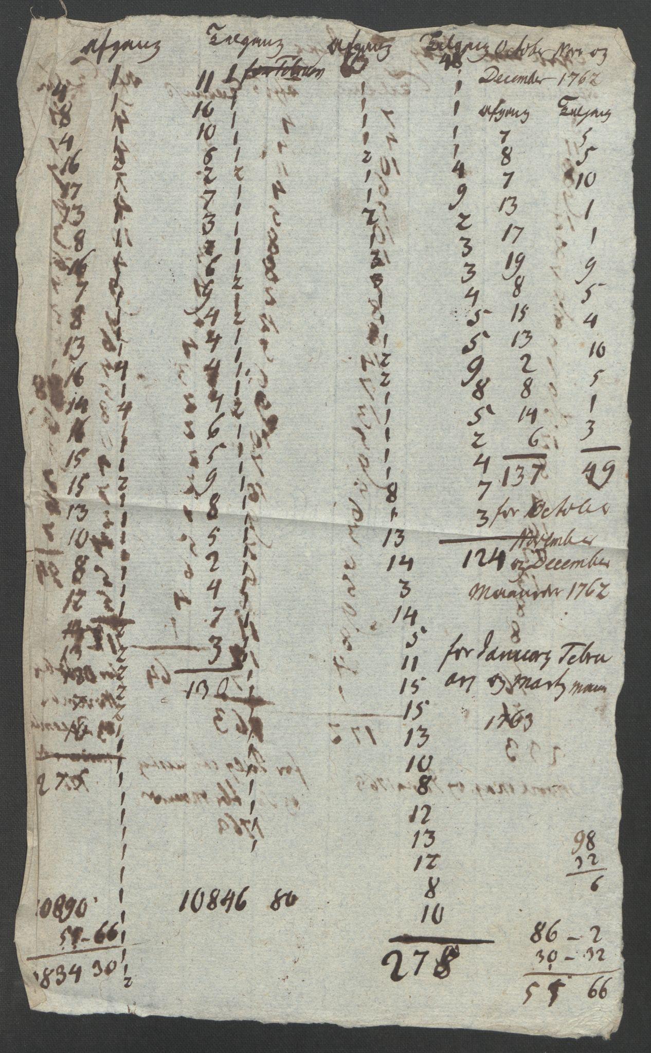 RA, Rentekammeret inntil 1814, Reviderte regnskaper, Fogderegnskap, R46/L2835: Ekstraskatten Jæren og Dalane, 1762-1764, s. 139