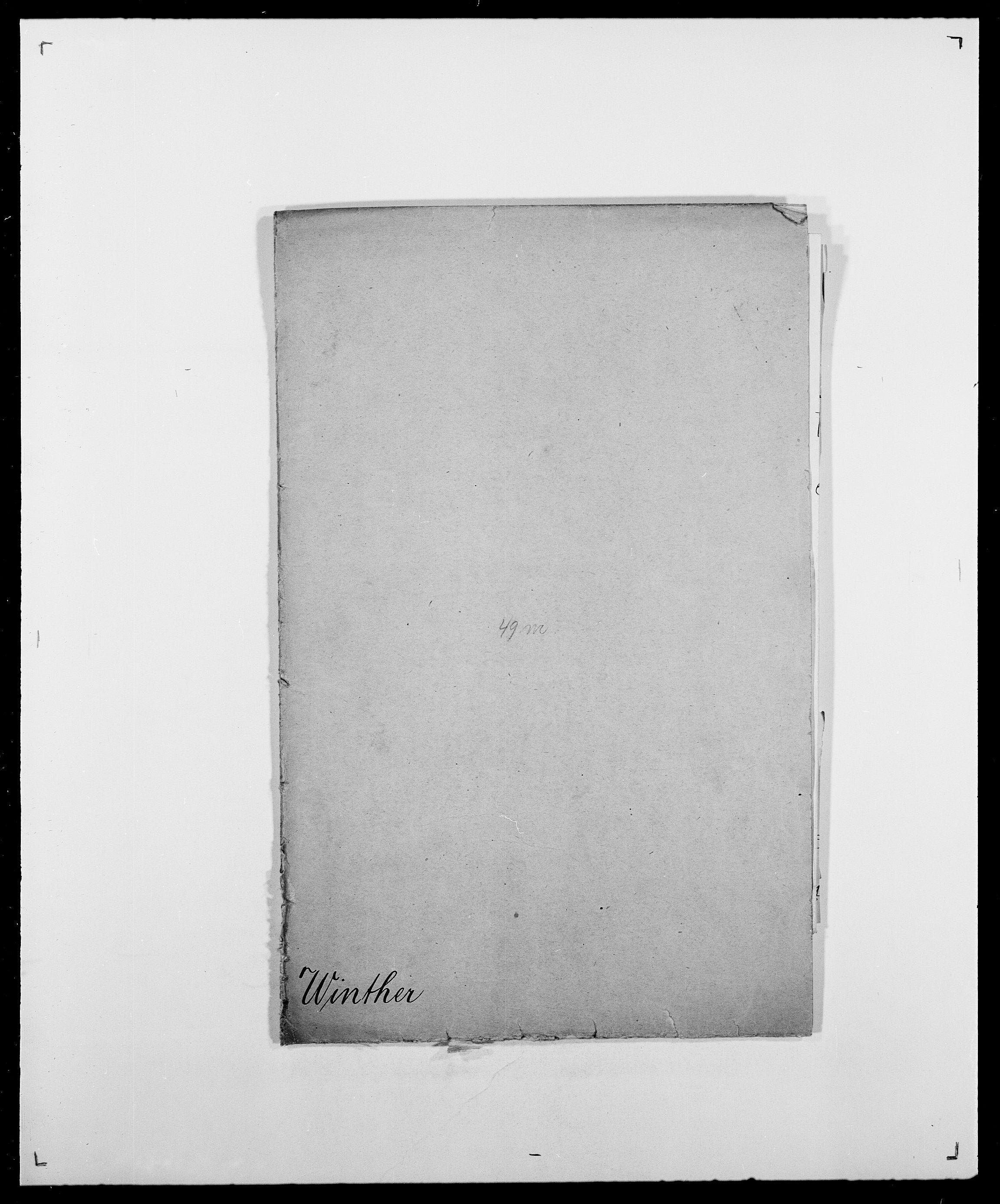 SAO, Delgobe, Charles Antoine - samling, D/Da/L0042: Vilain - Wulf, Wulff, se også Wolf, s. 298
