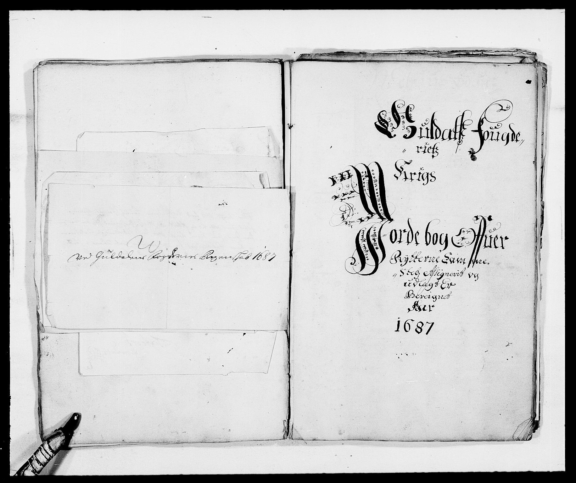 RA, Rentekammeret inntil 1814, Reviderte regnskaper, Fogderegnskap, R59/L3939: Fogderegnskap Gauldal, 1687-1688, s. 88