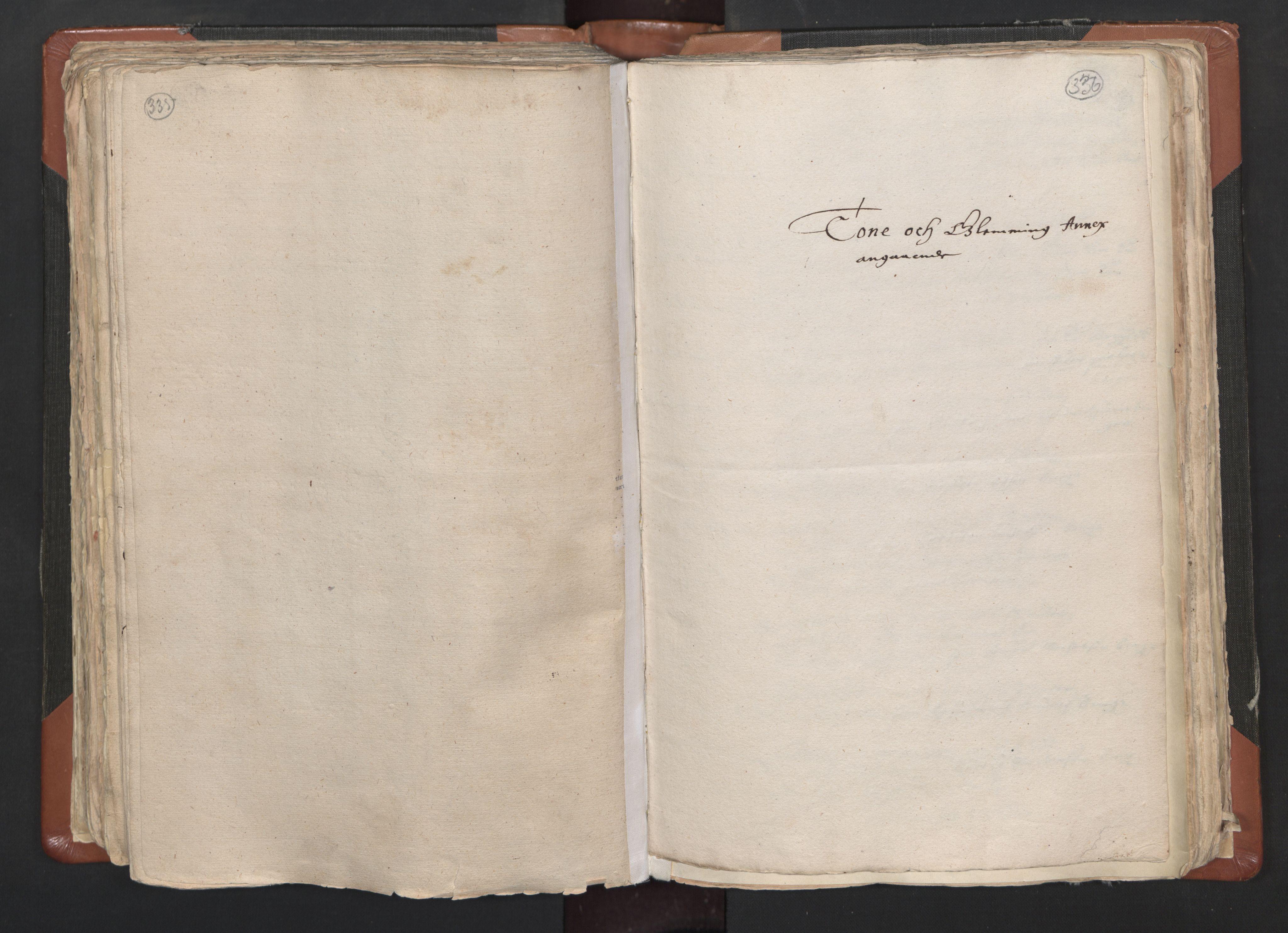 RA, Sogneprestenes manntall 1664-1666, nr. 1: Nedre Borgesyssel prosti, 1664-1666, s. 335-336