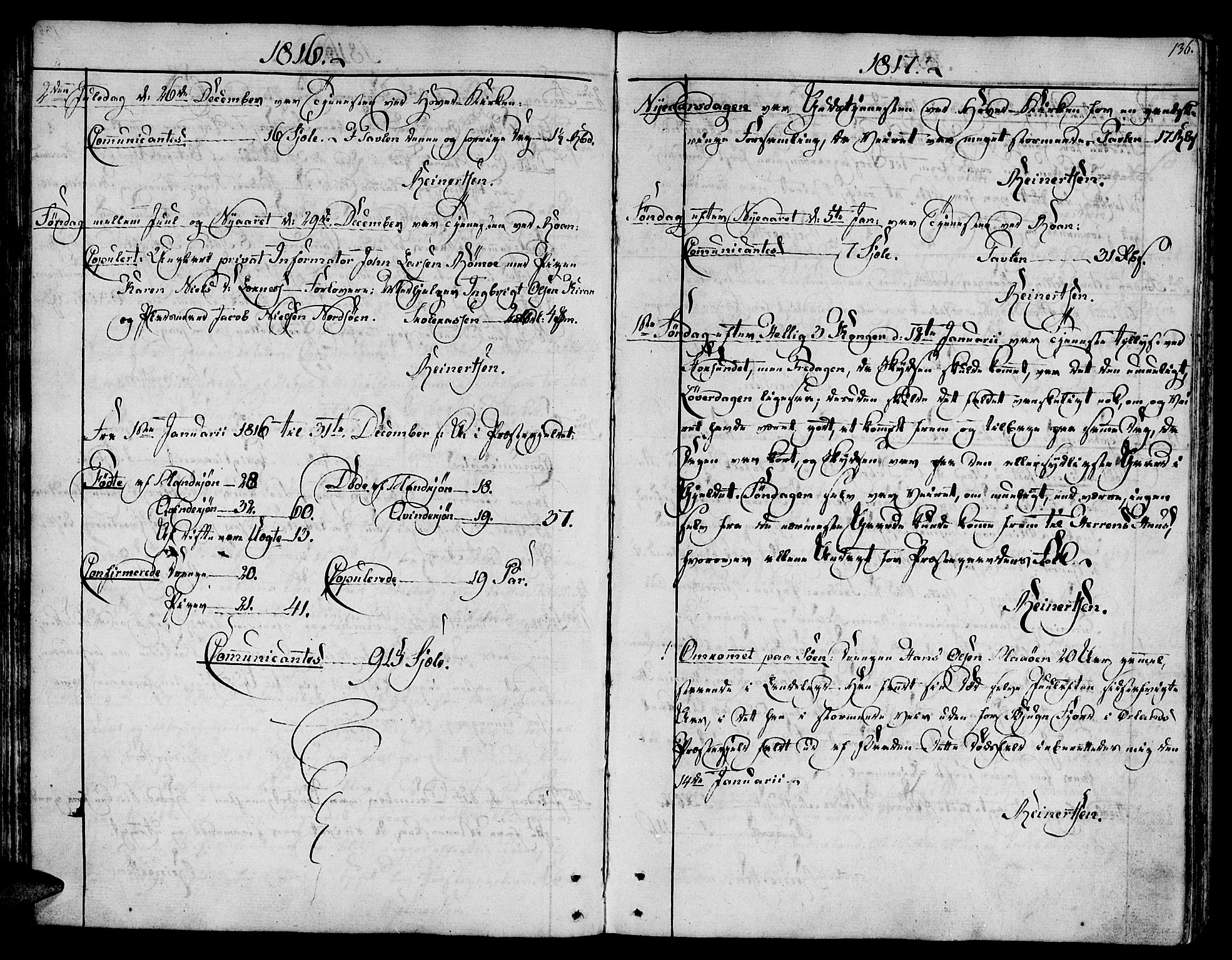 SAT, Ministerialprotokoller, klokkerbøker og fødselsregistre - Sør-Trøndelag, 657/L0701: Ministerialbok nr. 657A02, 1802-1831, s. 136