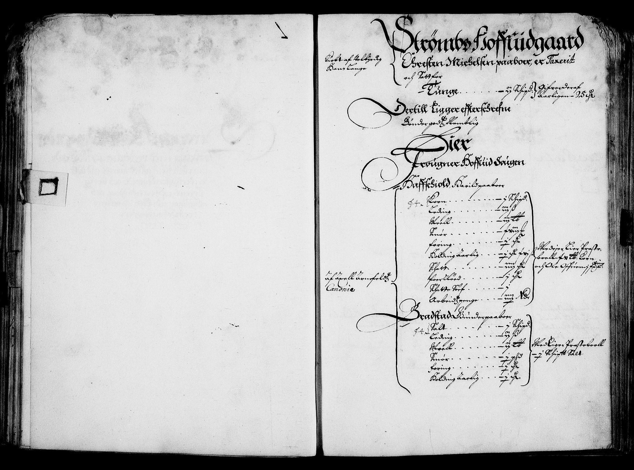 RA, Rentekammeret inntil 1814, Realistisk ordnet avdeling, On/L0001: Statens gods, 1651, s. 54