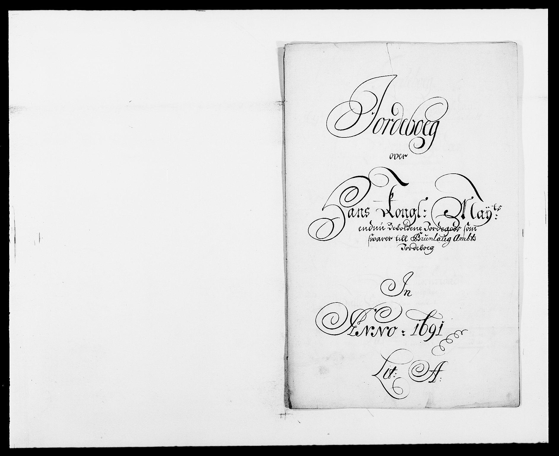 RA, Rentekammeret inntil 1814, Reviderte regnskaper, Fogderegnskap, R33/L1972: Fogderegnskap Larvik grevskap, 1690-1691, s. 241