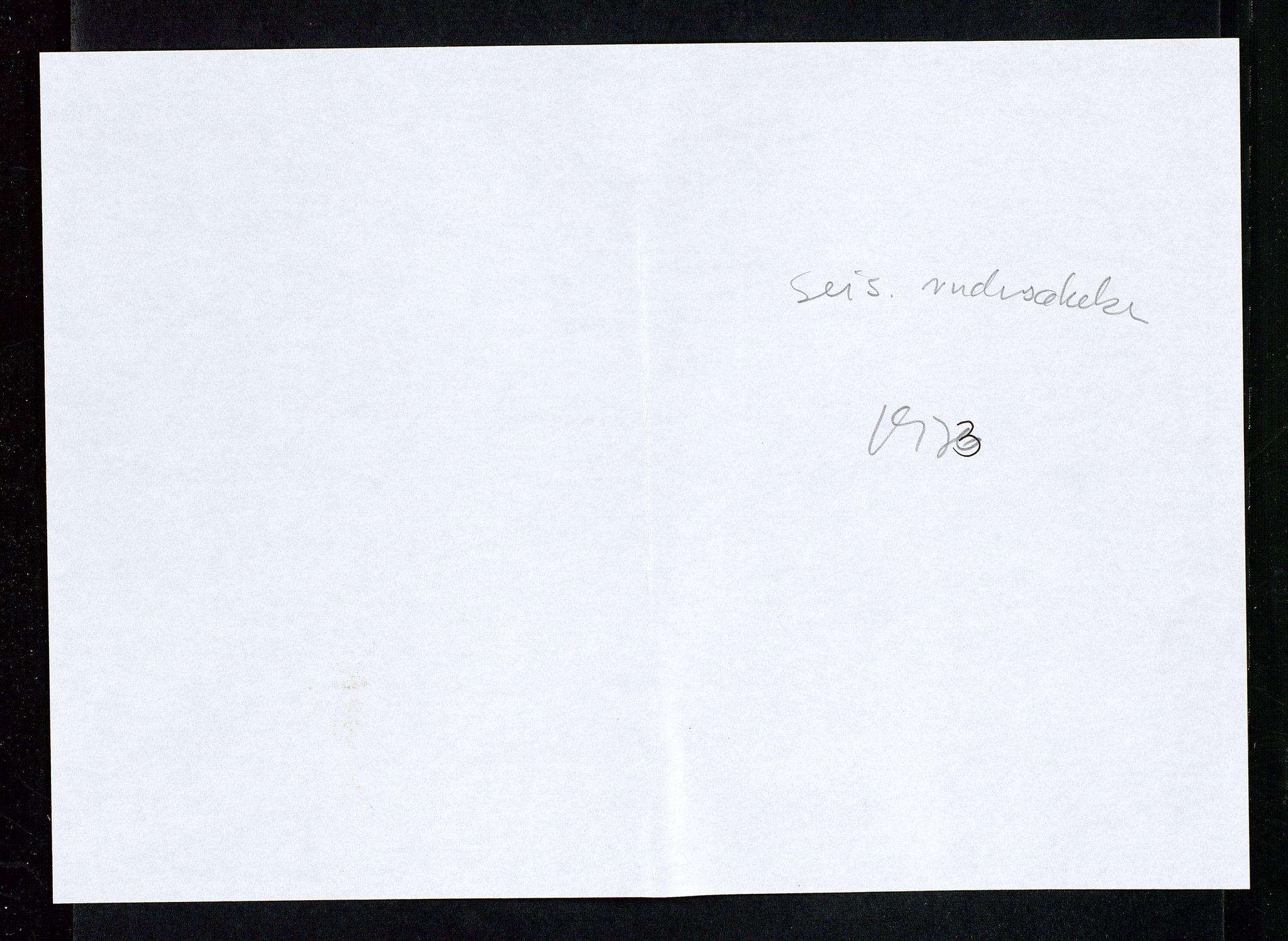 SAST, Industridepartementet, Oljekontoret, Da/L0006:  Arkivnøkkel 714 Vitenskapelige undersøkelser, 1963-1973, s. 429