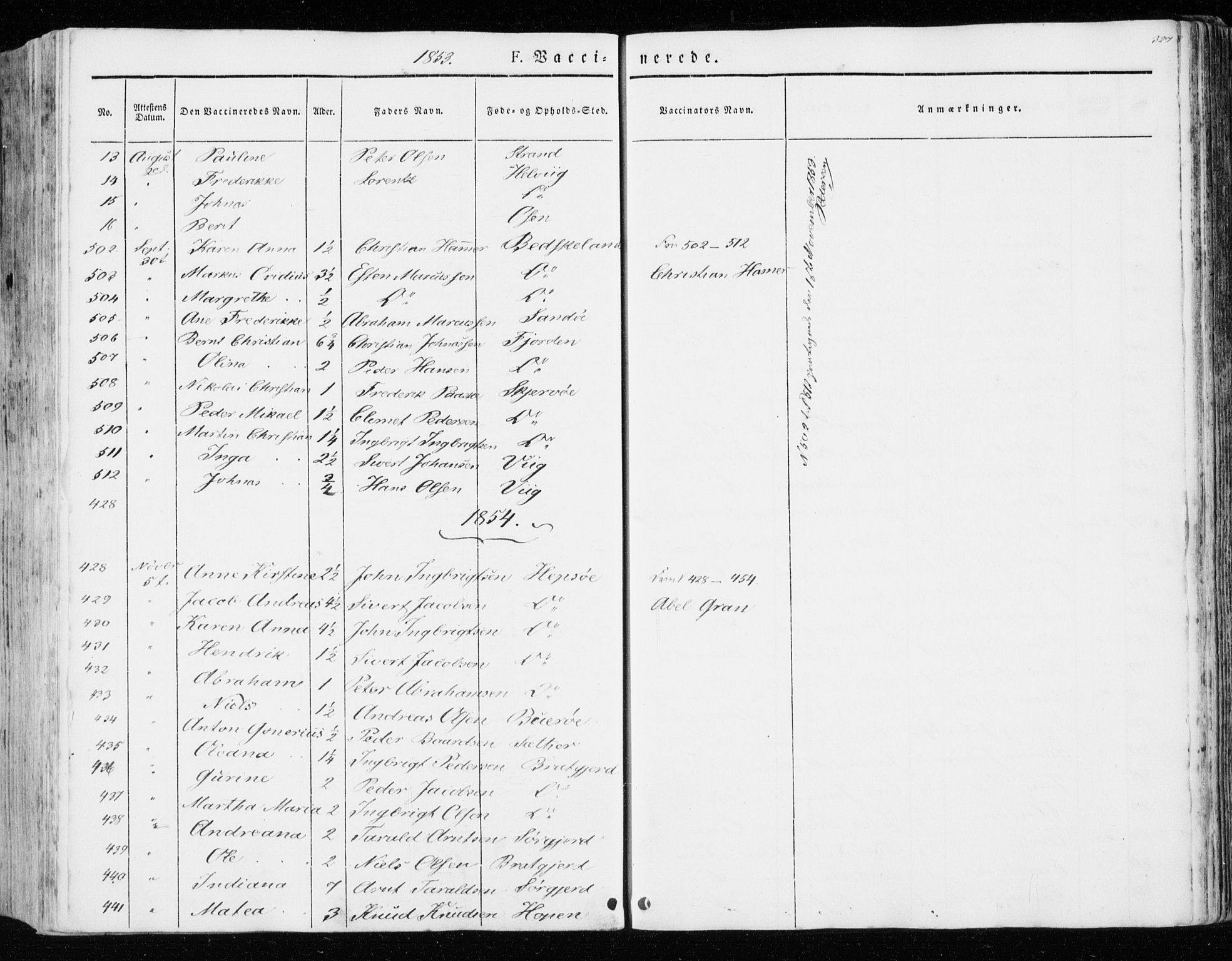 SAT, Ministerialprotokoller, klokkerbøker og fødselsregistre - Sør-Trøndelag, 657/L0704: Ministerialbok nr. 657A05, 1846-1857, s. 327