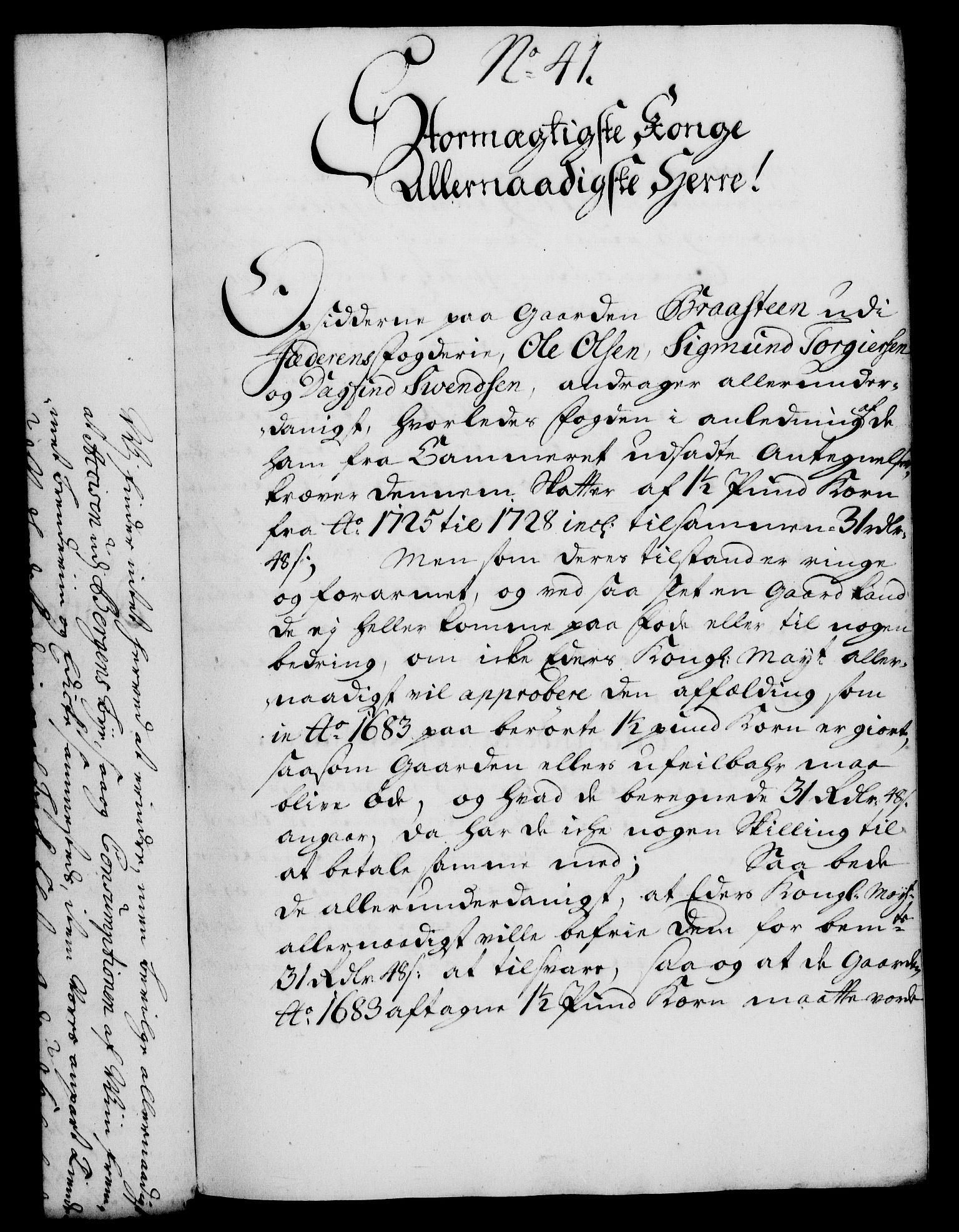 RA, Rentekammeret, Kammerkanselliet, G/Gf/Gfa/L0014: Norsk relasjons- og resolusjonsprotokoll (merket RK 52.14), 1731, s. 225