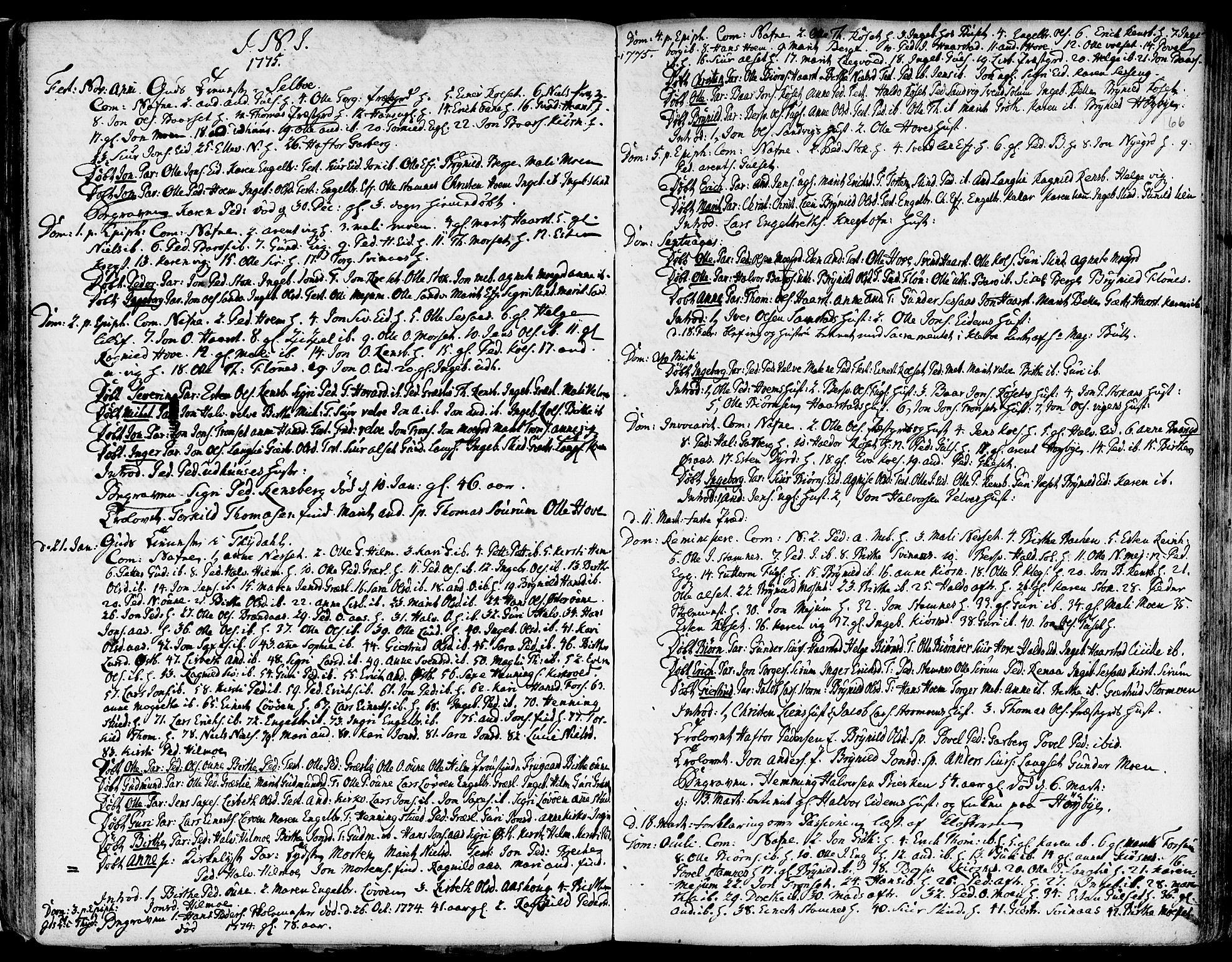 SAT, Ministerialprotokoller, klokkerbøker og fødselsregistre - Sør-Trøndelag, 695/L1138: Ministerialbok nr. 695A02 /1, 1757-1801, s. 66