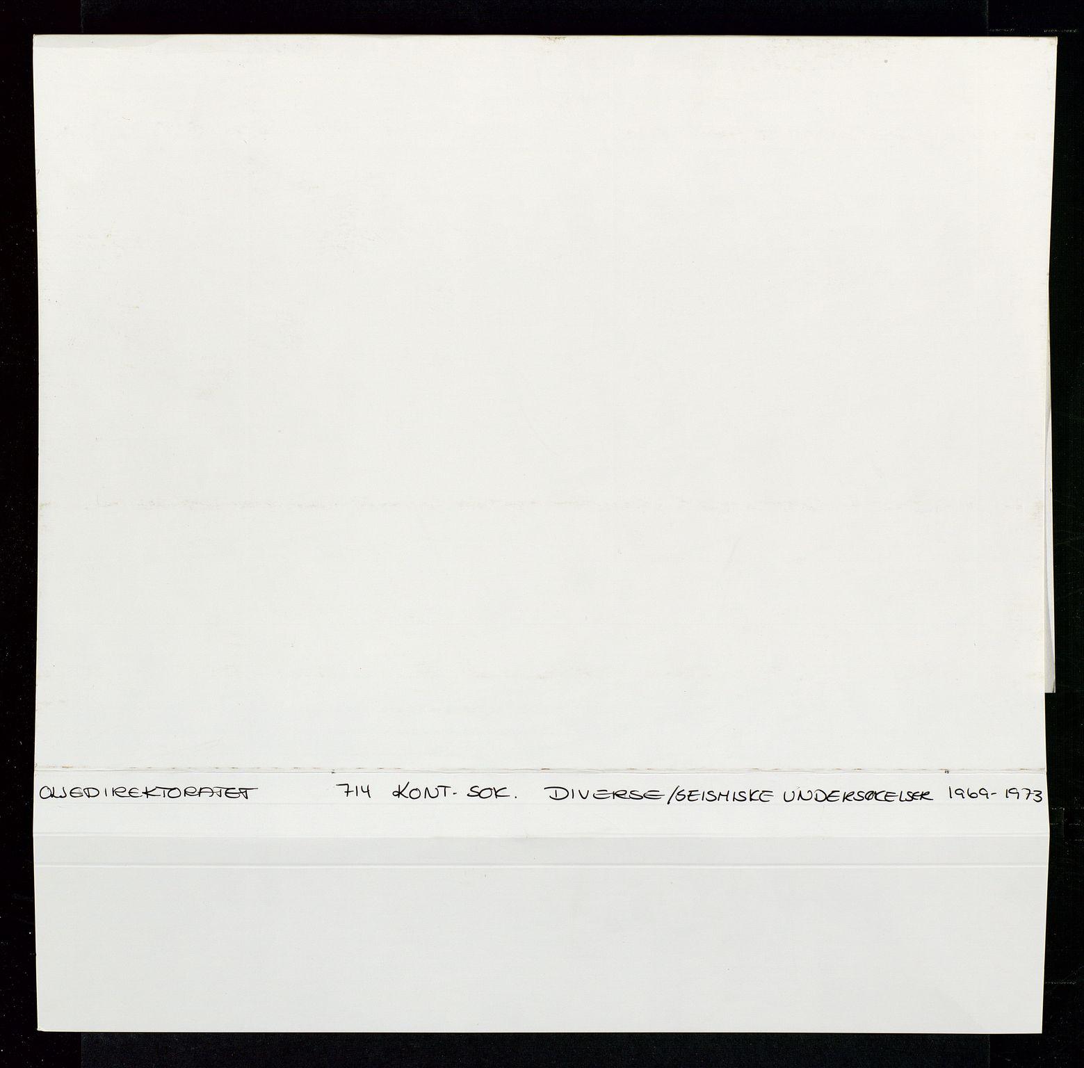 SAST, Industridepartementet, Oljekontoret, Da/L0006:  Arkivnøkkel 714 Vitenskapelige undersøkelser, 1963-1973, s. 428