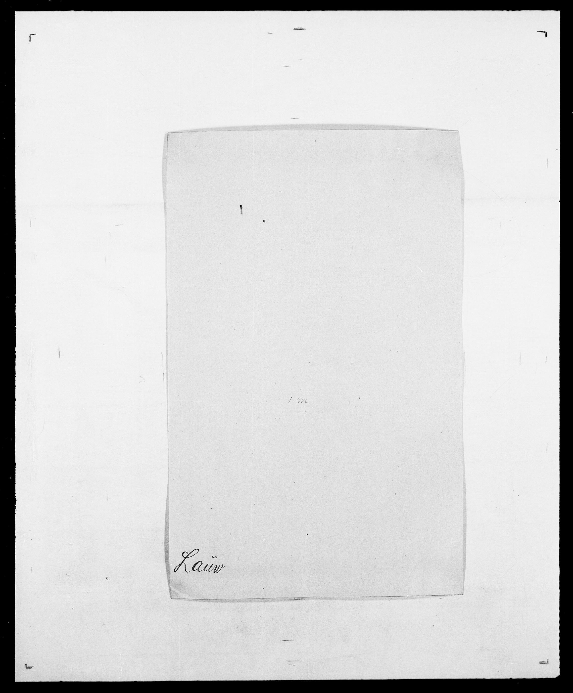 SAO, Delgobe, Charles Antoine - samling, D/Da/L0023: Lau - Lirvyn, s. 30