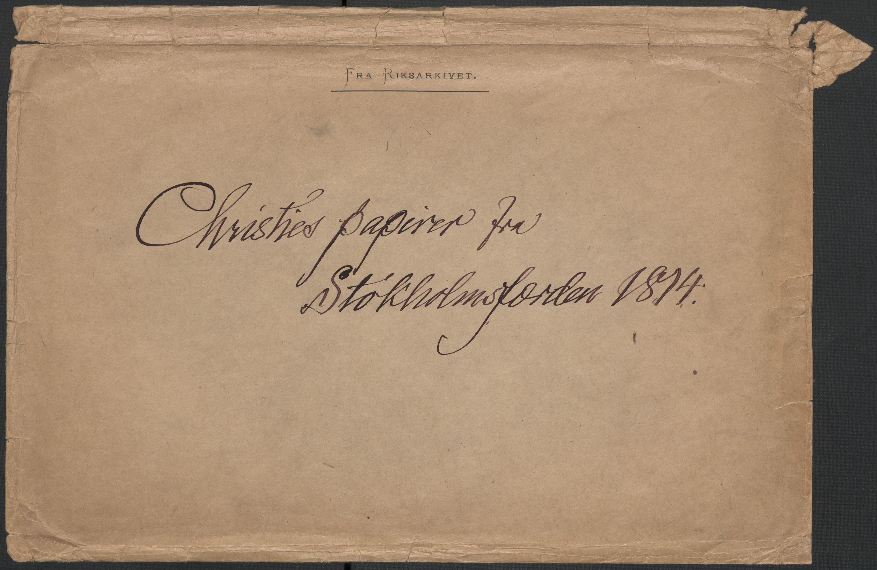 RA, Christie, Wilhelm Frimann Koren, F/L0004, 1814, s. 240