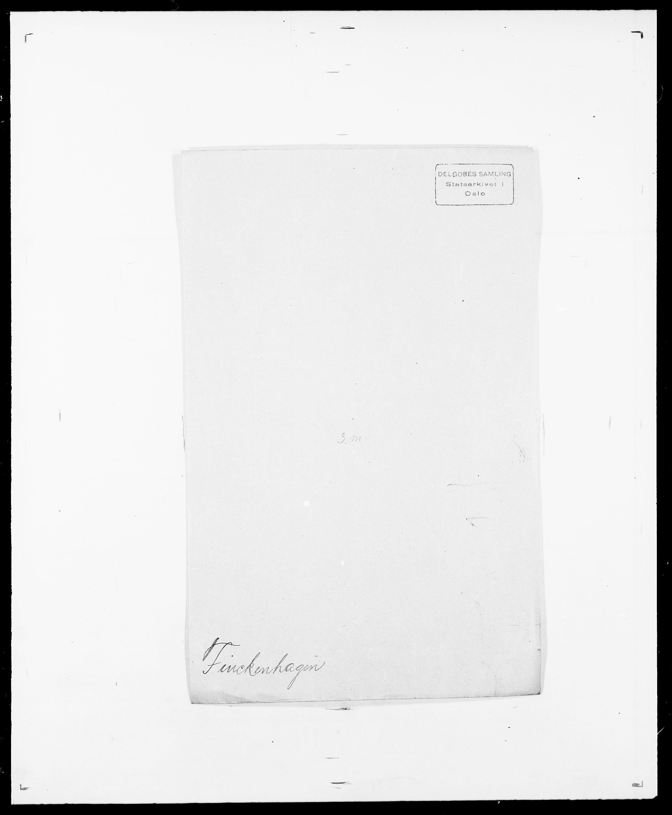 SAO, Delgobe, Charles Antoine - samling, D/Da/L0011: Fahlander - Flood, Flod, s. 452