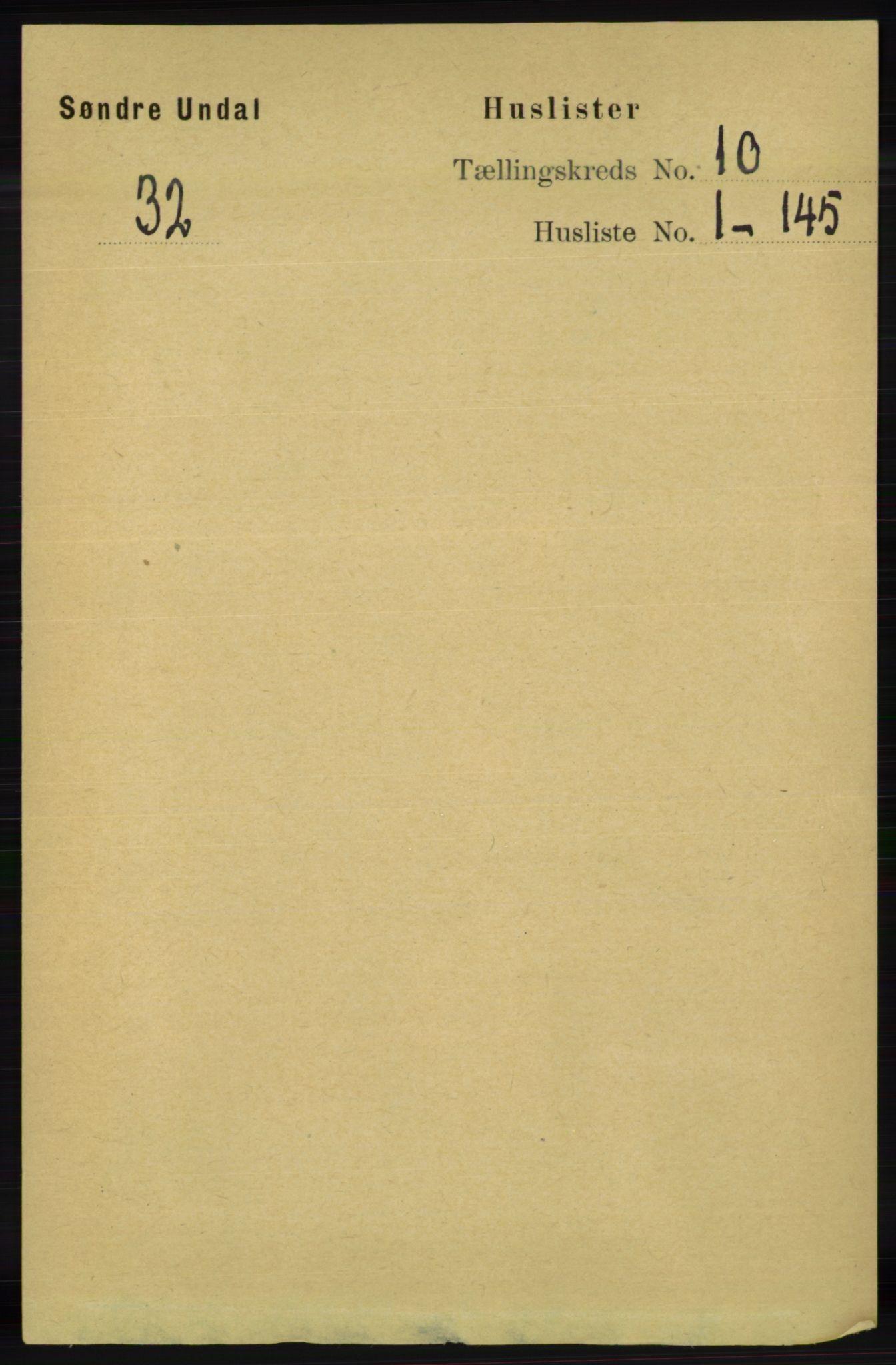 RA, Folketelling 1891 for 1029 Sør-Audnedal herred, 1891, s. 4286