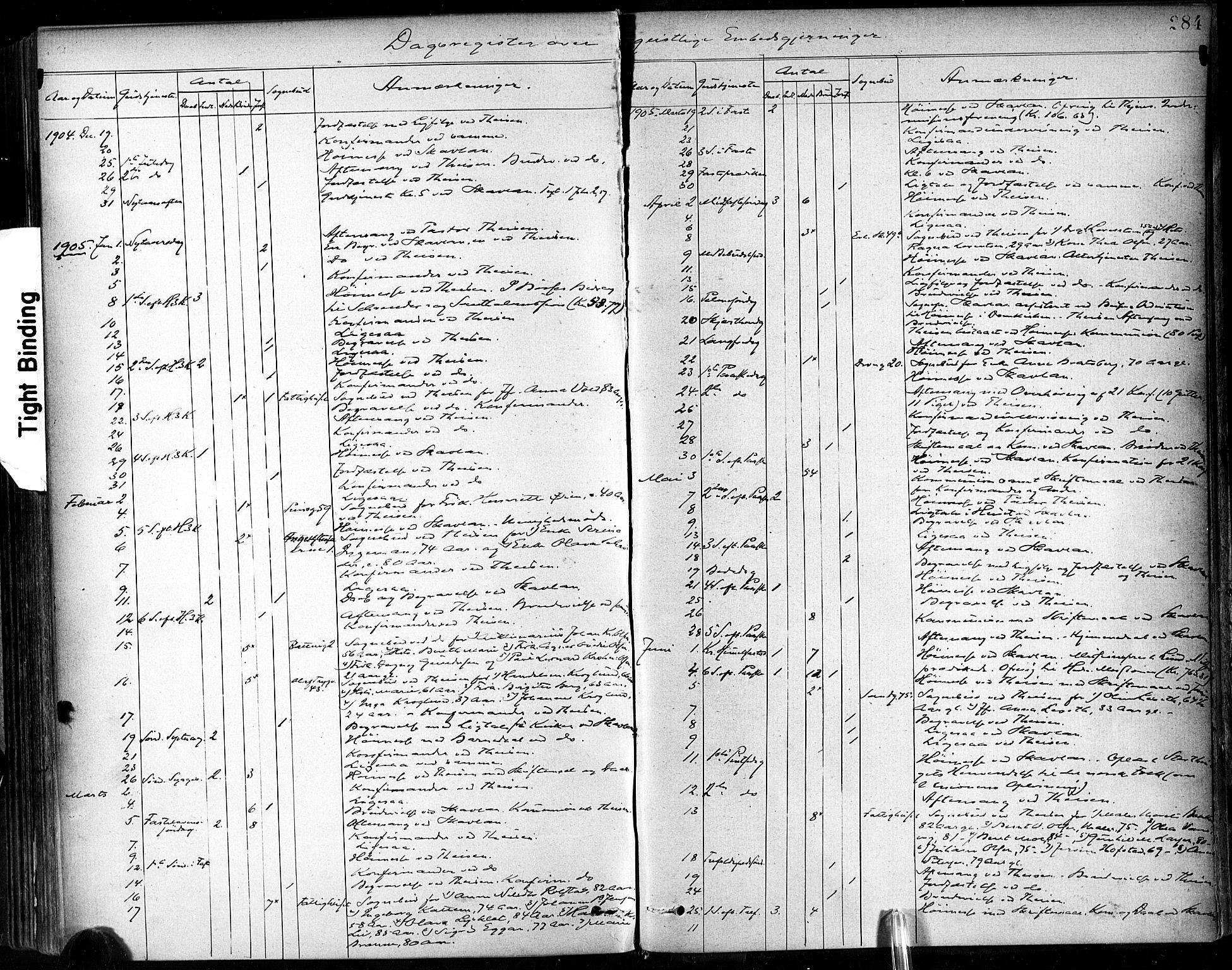 SAT, Ministerialprotokoller, klokkerbøker og fødselsregistre - Sør-Trøndelag, 602/L0120: Ministerialbok nr. 602A18, 1880-1913, s. 284
