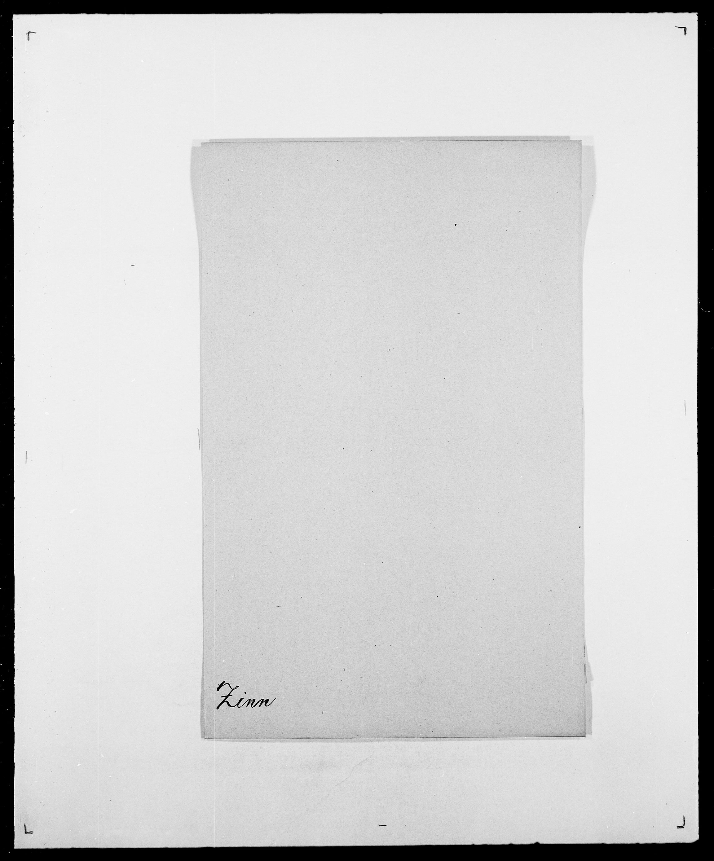 SAO, Delgobe, Charles Antoine - samling, D/Da/L0043: Wulfsberg - v. Zanten, s. 197
