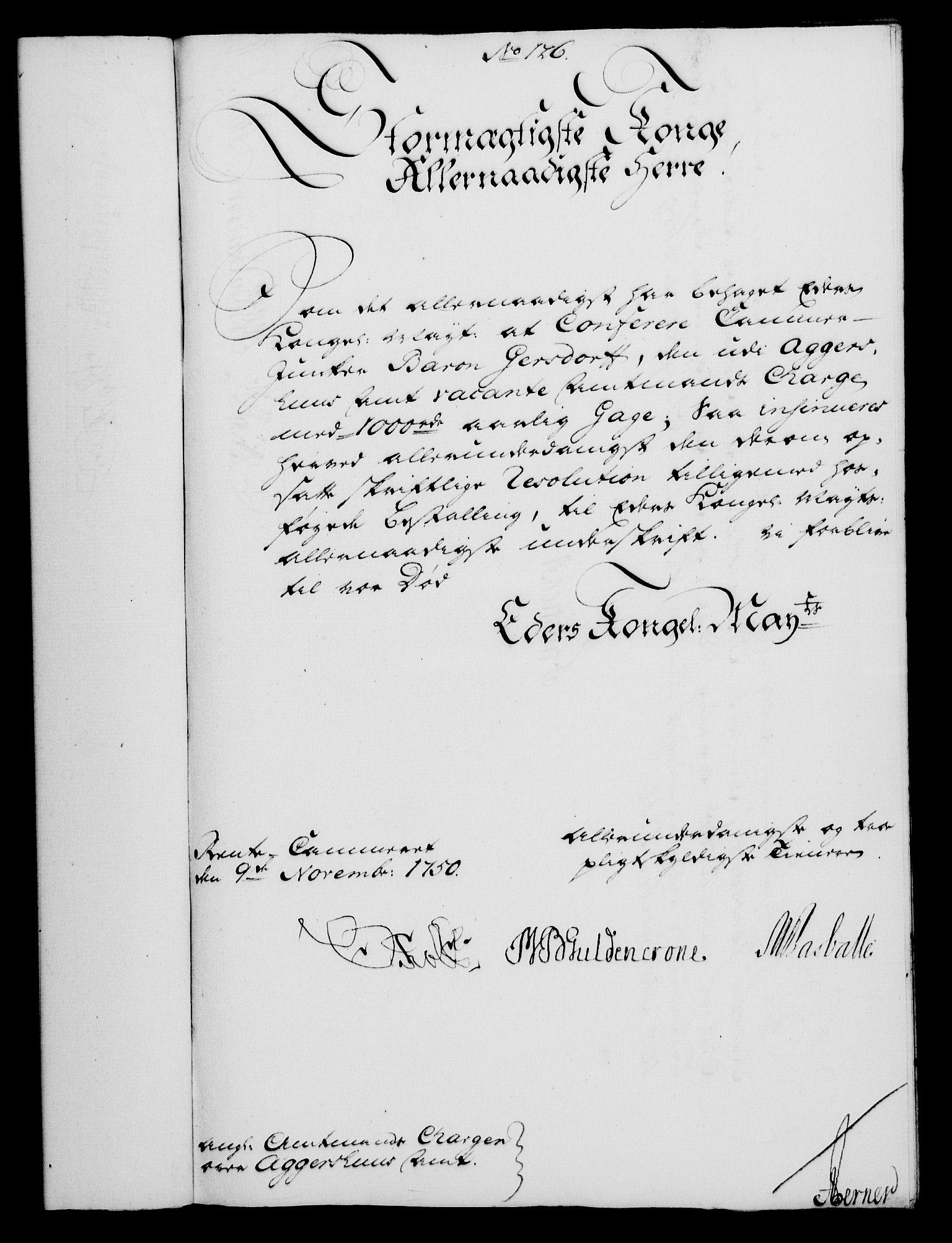 RA, Rentekammeret, Kammerkanselliet, G/Gf/Gfa/L0032: Norsk relasjons- og resolusjonsprotokoll (merket RK 52.32), 1750, s. 570