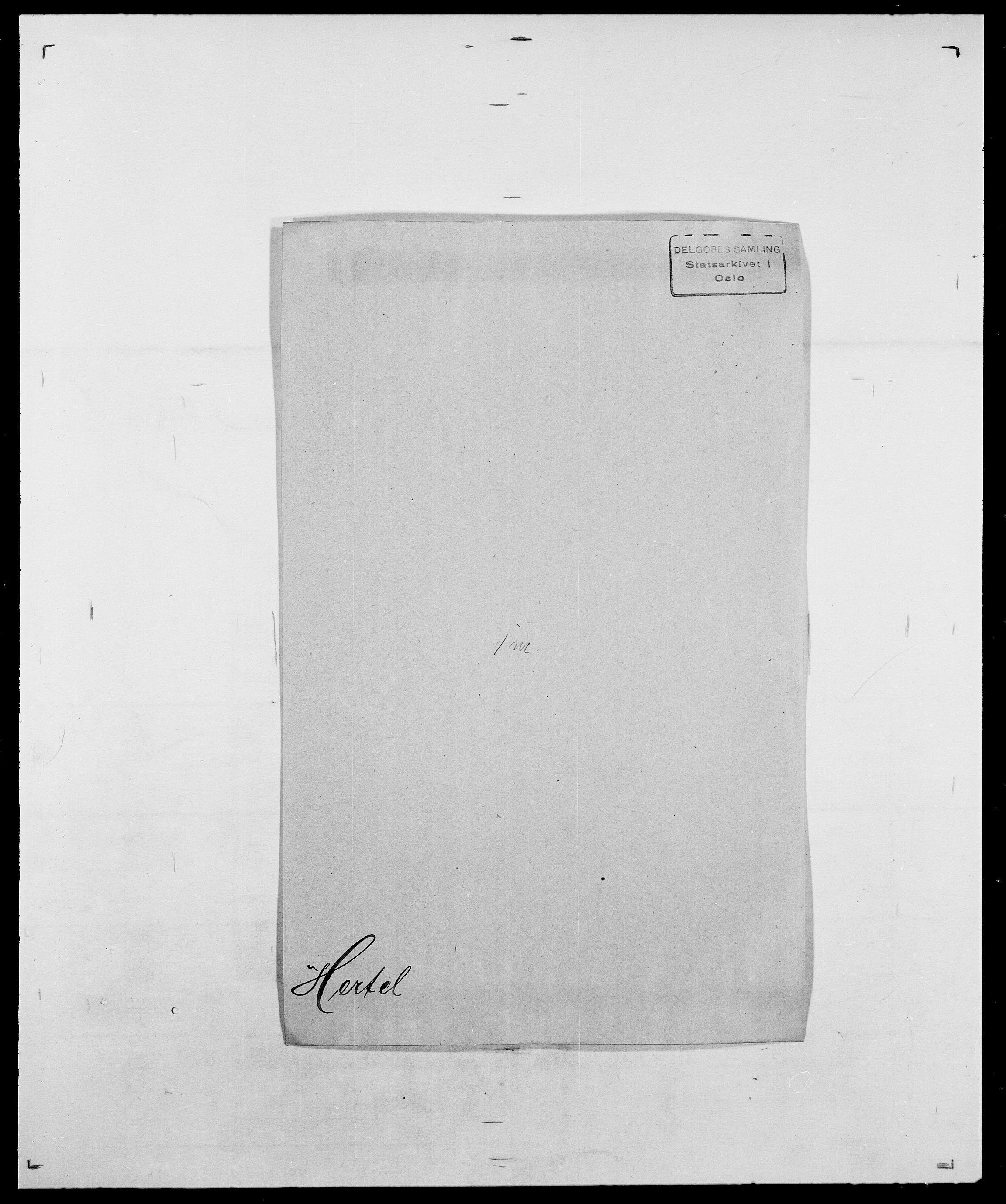 SAO, Delgobe, Charles Antoine - samling, D/Da/L0017: Helander - Hjørne, s. 278