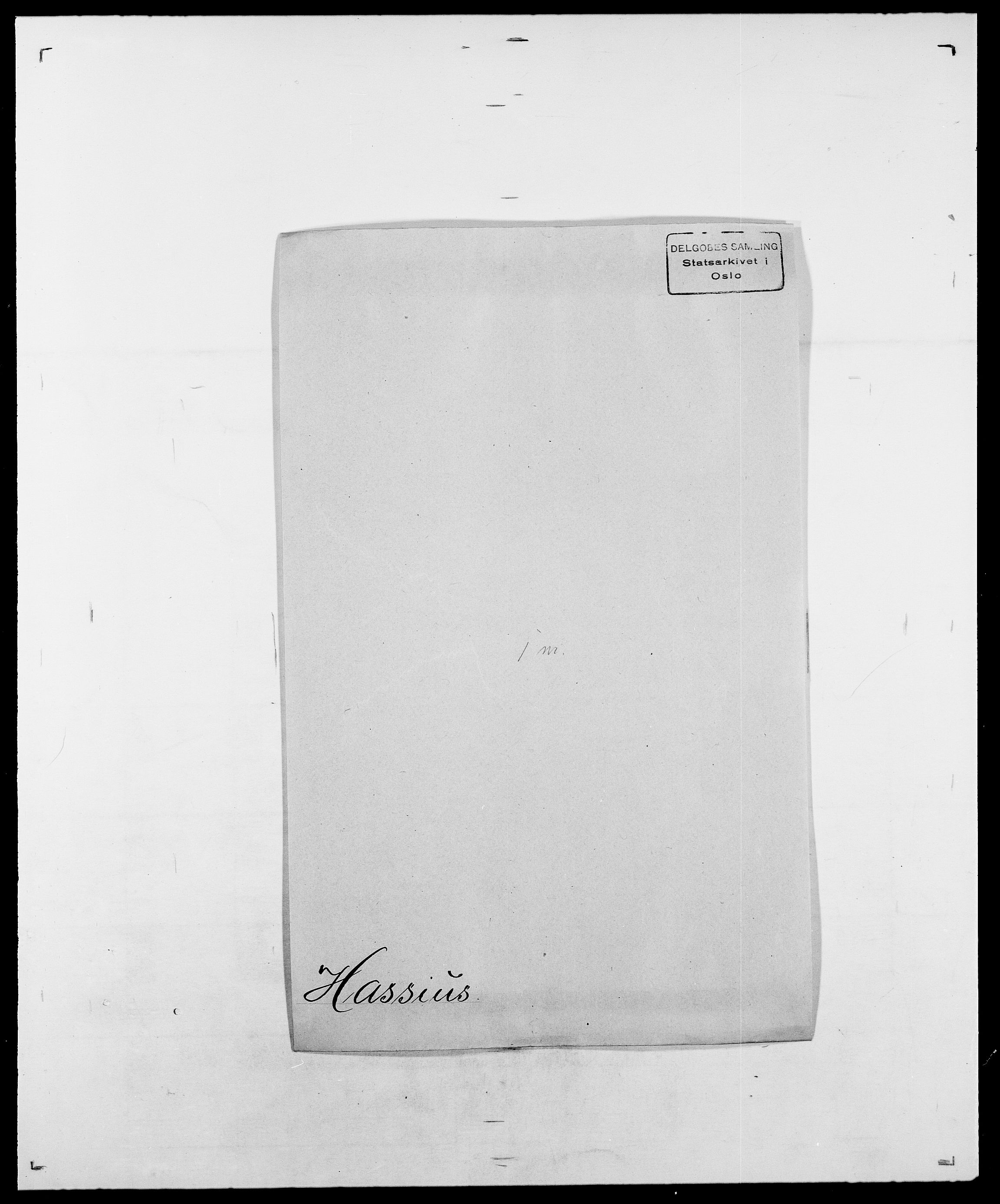 SAO, Delgobe, Charles Antoine - samling, D/Da/L0016: Hamborg - Hektoen, s. 548