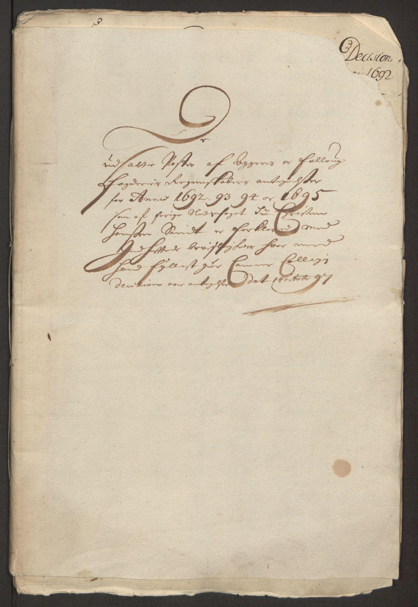 RA, Rentekammeret inntil 1814, Reviderte regnskaper, Fogderegnskap, R10/L0439: Fogderegnskap Aker og Follo, 1695, s. 411