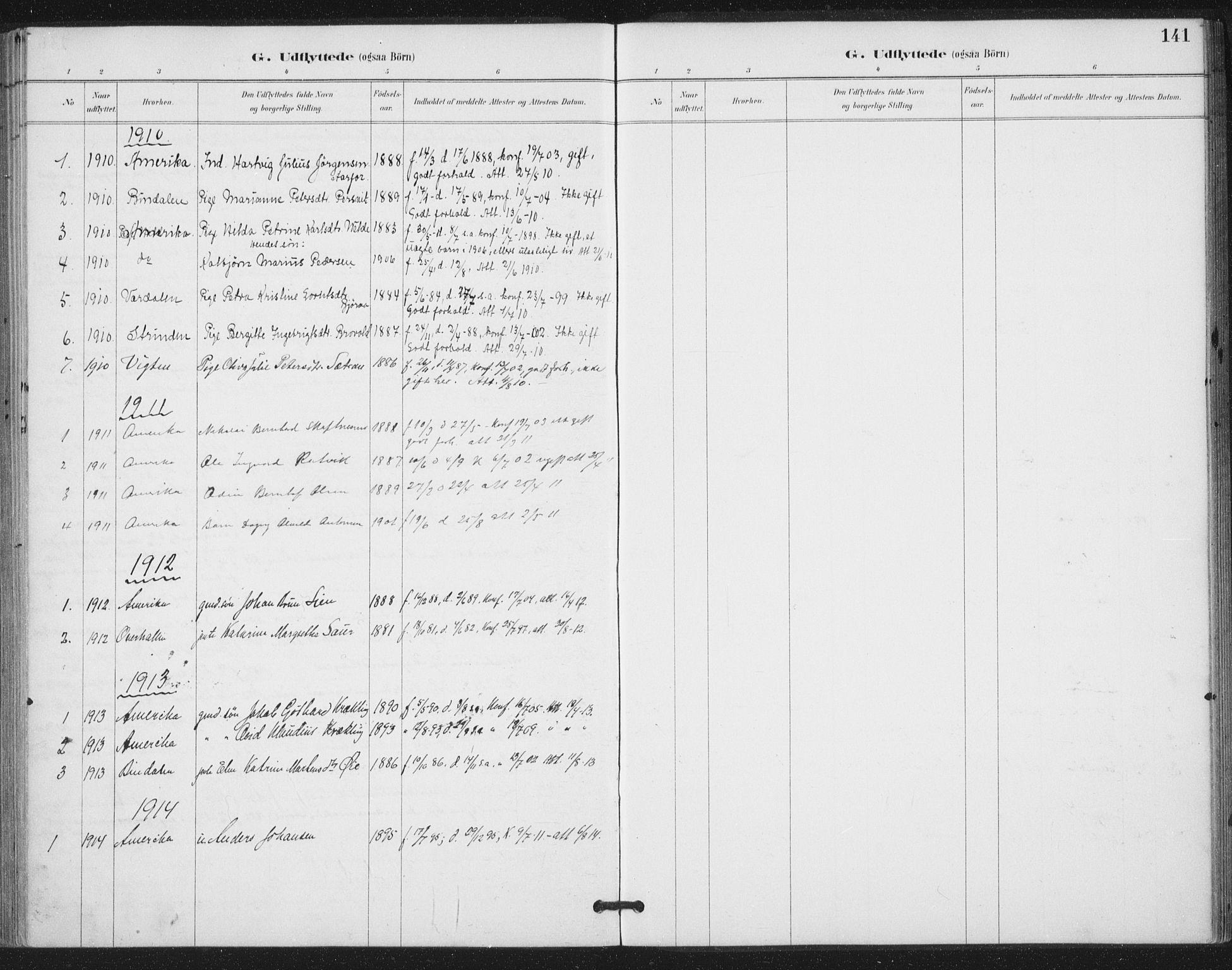 SAT, Ministerialprotokoller, klokkerbøker og fødselsregistre - Nord-Trøndelag, 783/L0660: Ministerialbok nr. 783A02, 1886-1918, s. 141