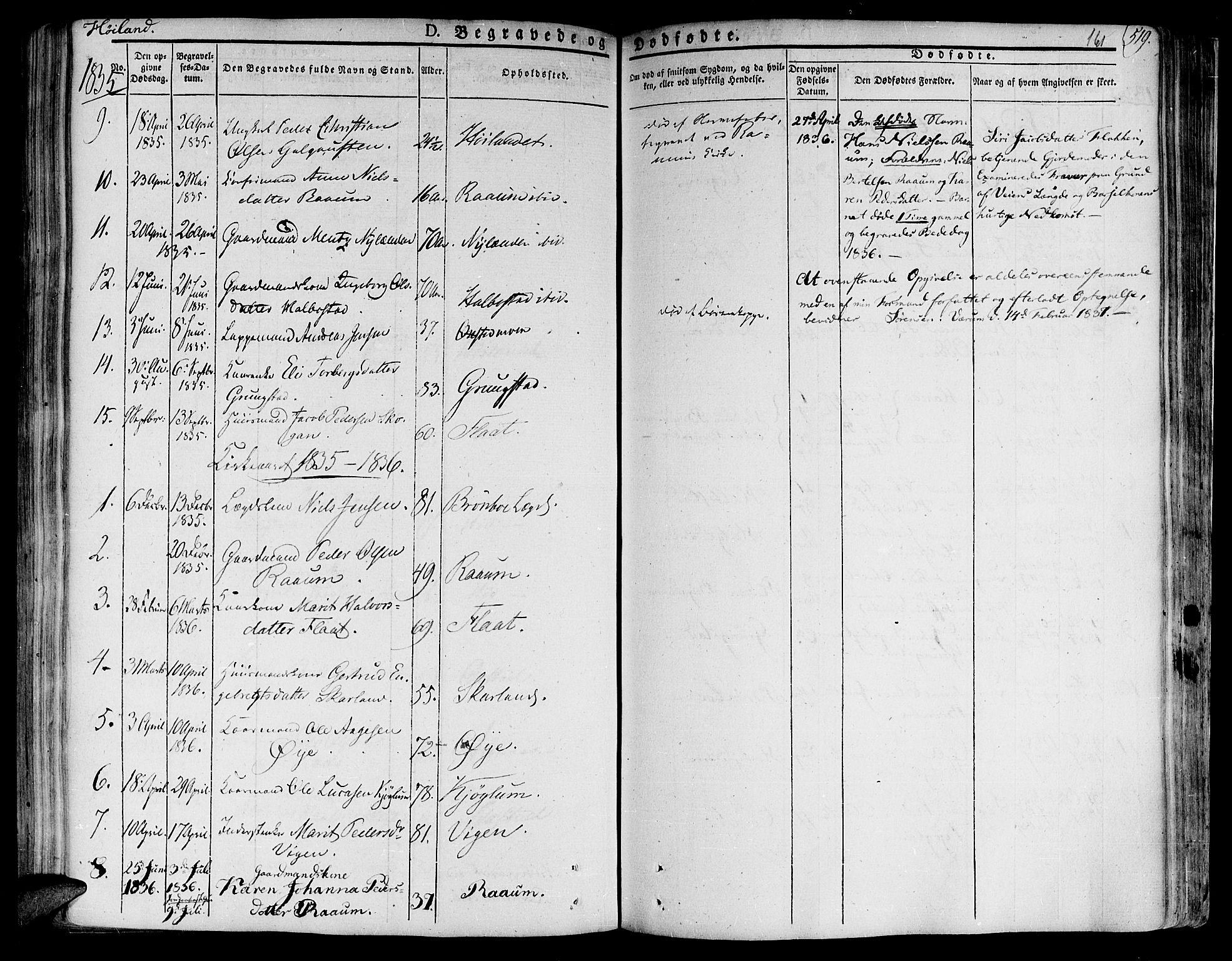 SAT, Ministerialprotokoller, klokkerbøker og fødselsregistre - Nord-Trøndelag, 758/L0510: Ministerialbok nr. 758A01 /2, 1821-1841, s. 161