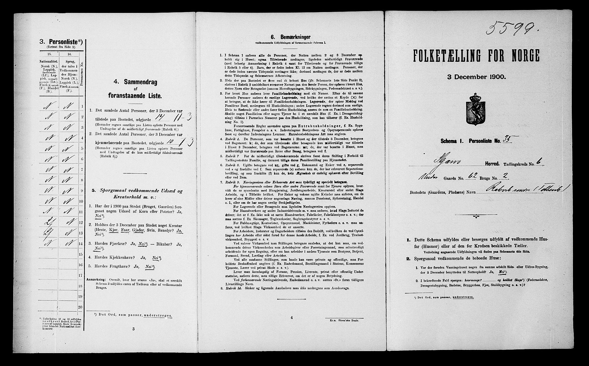 SATØ, Folketelling 1900 for 1941 Skjervøy herred, 1900, s. 606