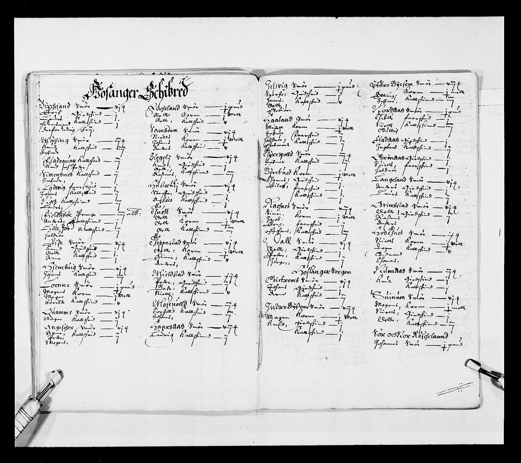 RA, Stattholderembetet 1572-1771, Ek/L0025: Jordebøker 1633-1658:, 1645-1646, s. 100