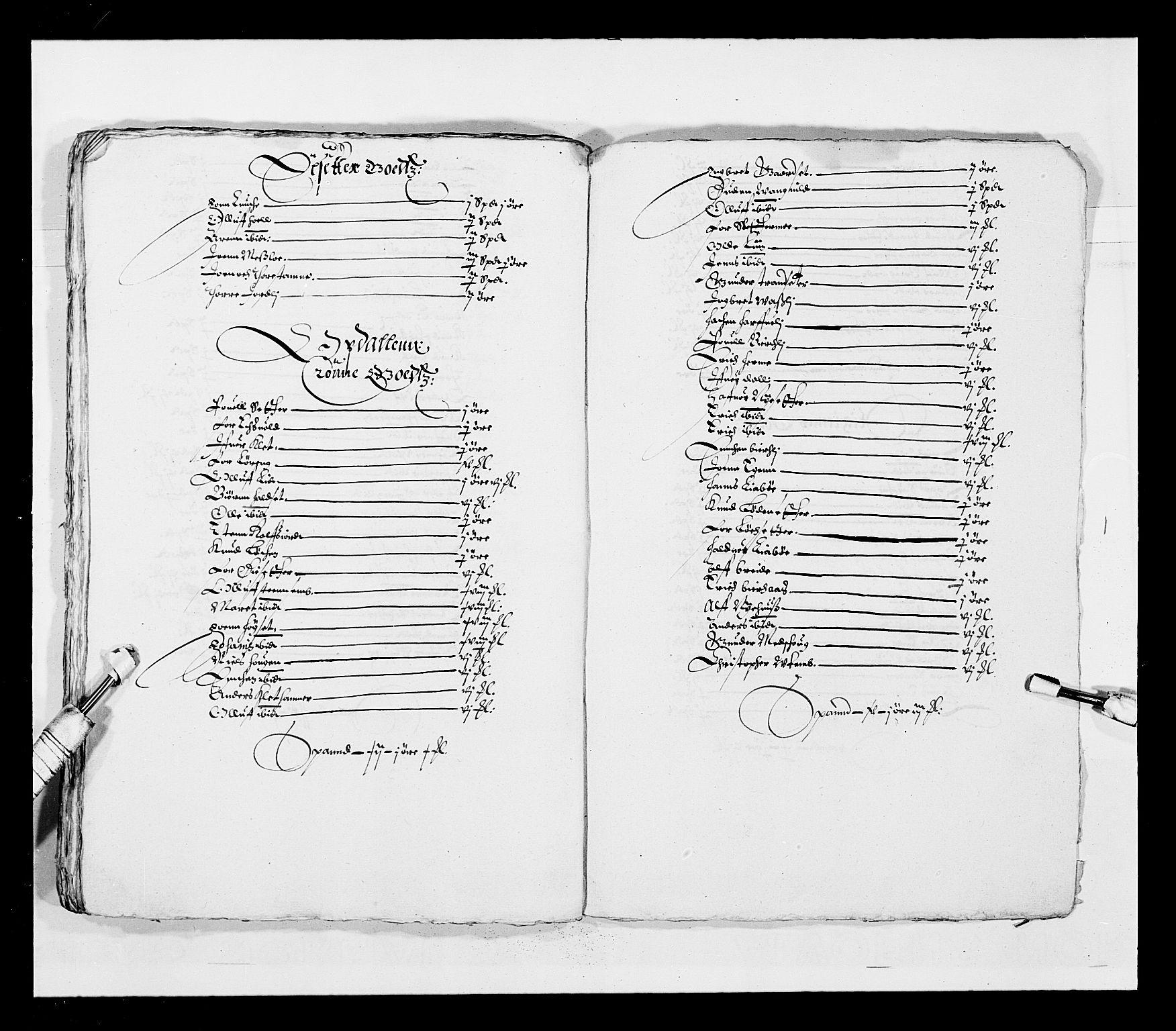 RA, Stattholderembetet 1572-1771, Ek/L0028: Jordebøker 1633-1658:, 1645-1646, s. 203