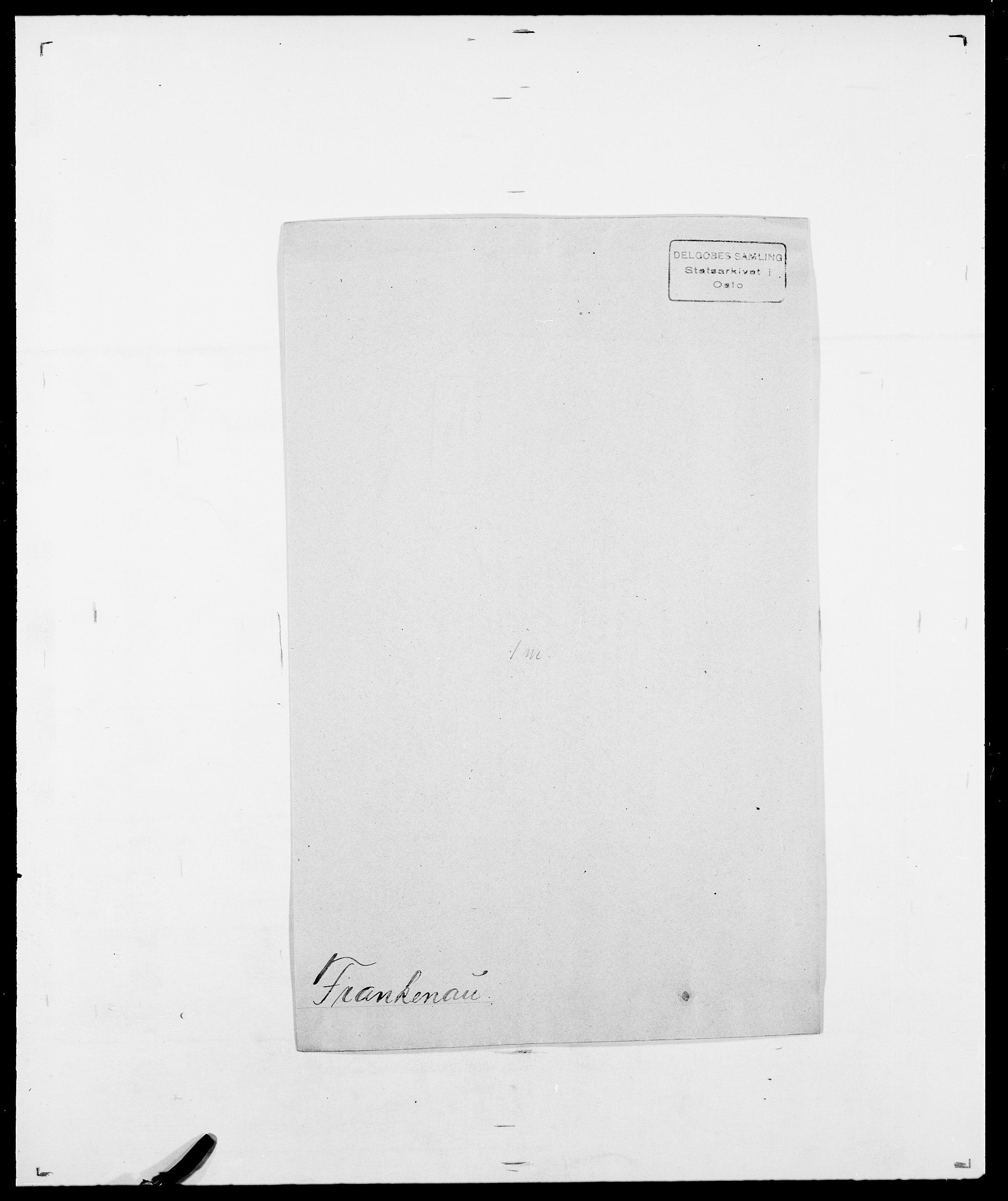 SAO, Delgobe, Charles Antoine - samling, D/Da/L0012: Flor, Floer, Flohr - Fritzner, s. 701