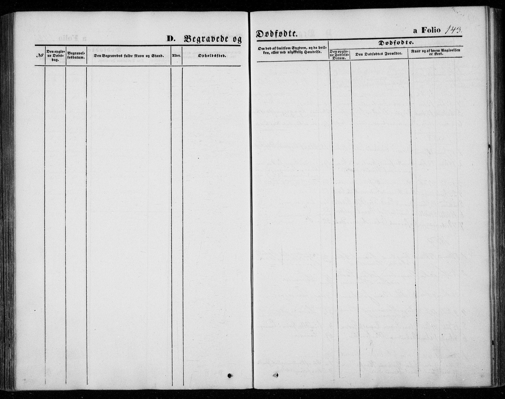 SAT, Ministerialprotokoller, klokkerbøker og fødselsregistre - Nord-Trøndelag, 720/L0184: Ministerialbok nr. 720A02 /2, 1855-1863, s. 143