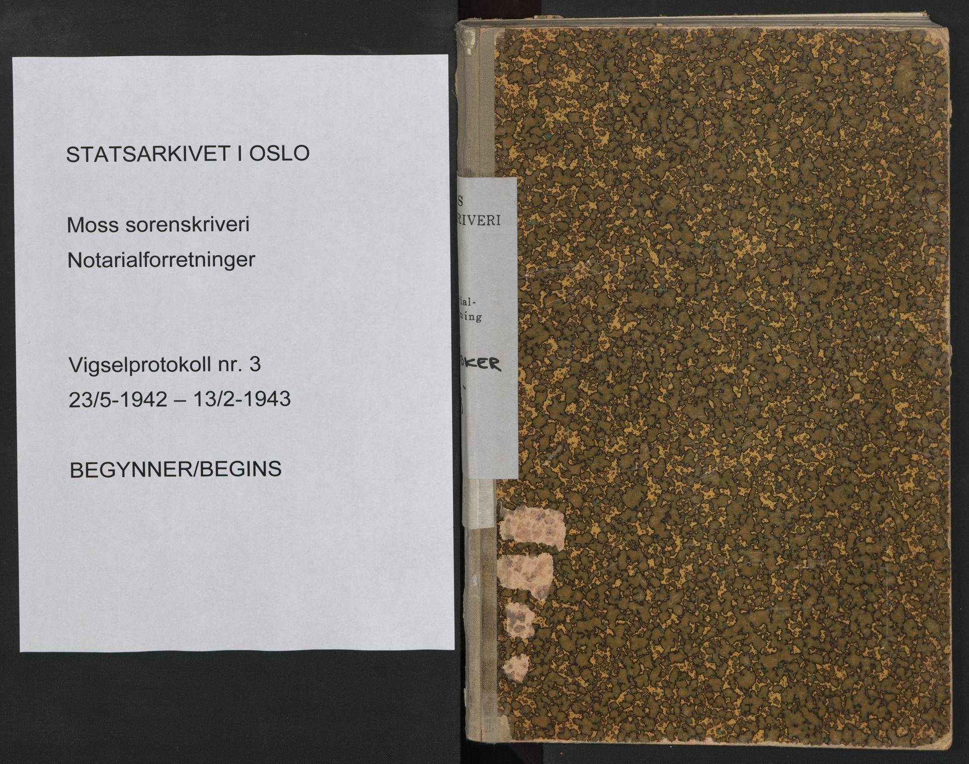 SAO, Moss sorenskriveri, 1942-1943, s. upaginert