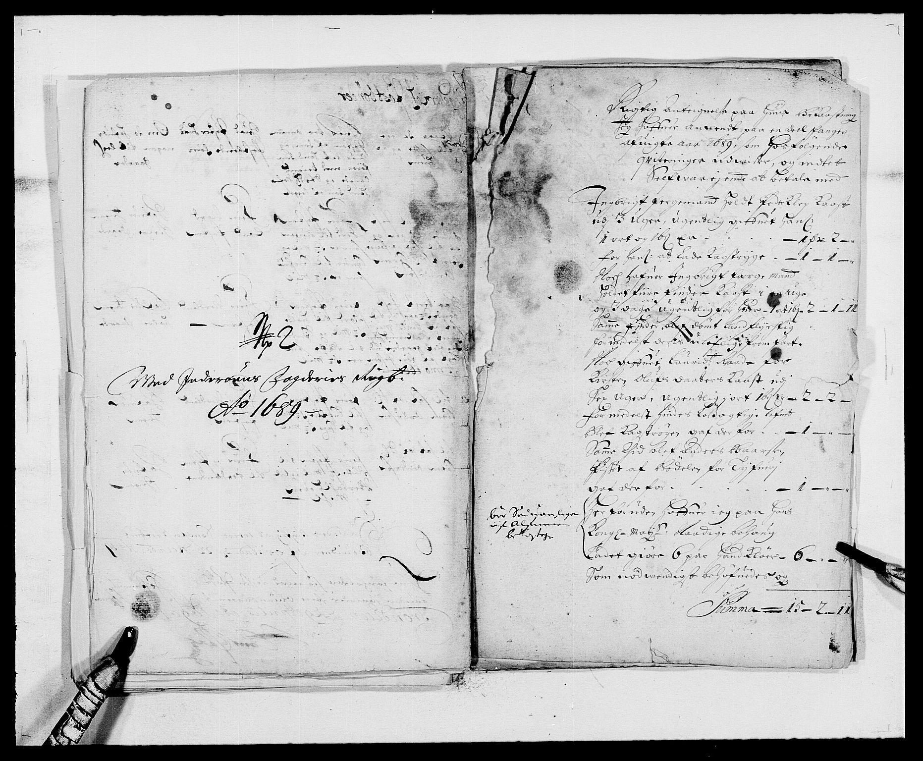 RA, Rentekammeret inntil 1814, Reviderte regnskaper, Fogderegnskap, R63/L4306: Fogderegnskap Inderøy, 1687-1689, s. 512