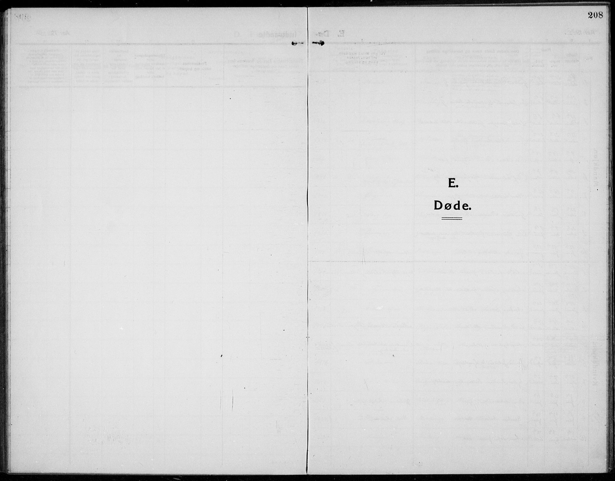 SAH, Jevnaker prestekontor, Ministerialbok nr. 12, 1914-1924, s. 208